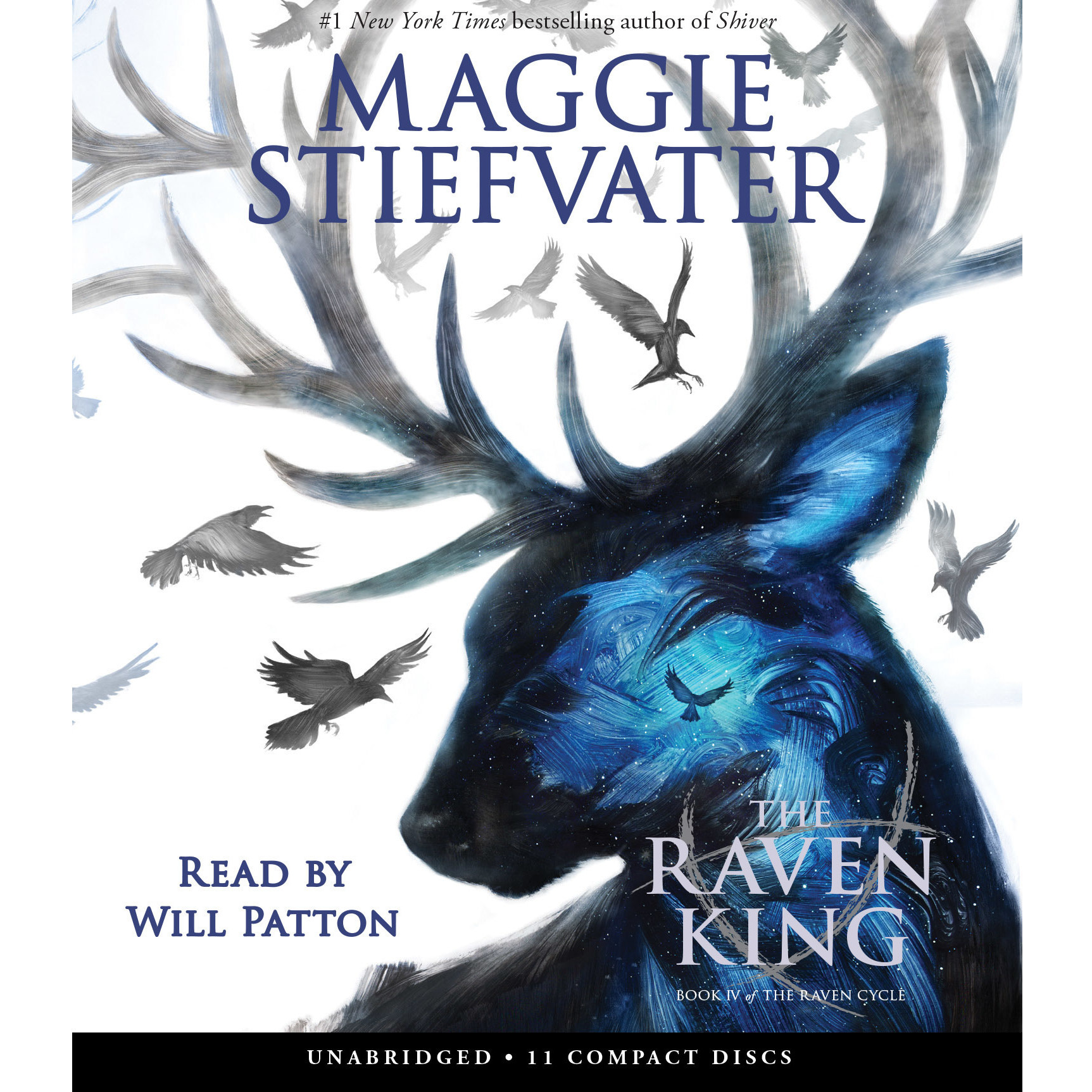 Printable The Raven King Audiobook Cover Art