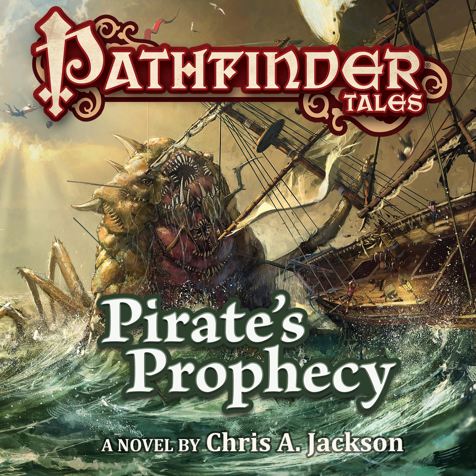Printable Pathfinder Tales: Pirate's Prophecy Audiobook Cover Art