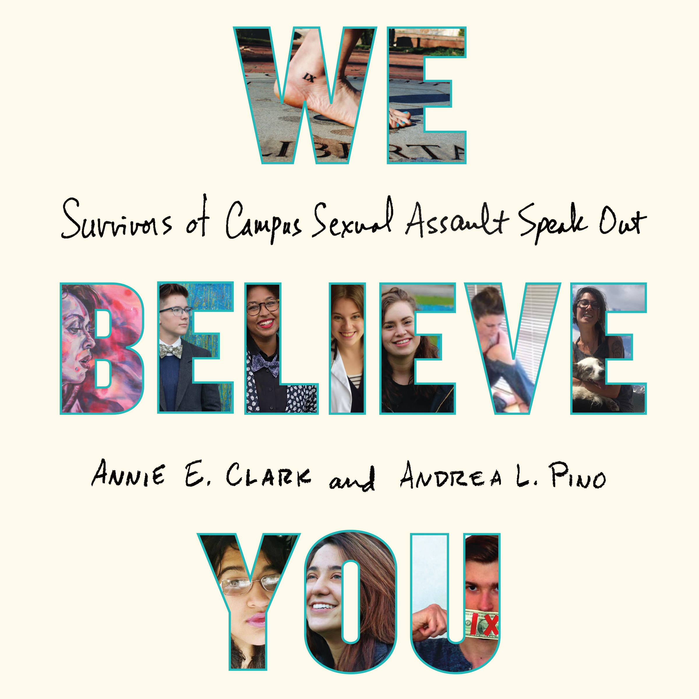 Printable We Believe You: Survivors of Campus Sexual Assault Speak Out Audiobook Cover Art