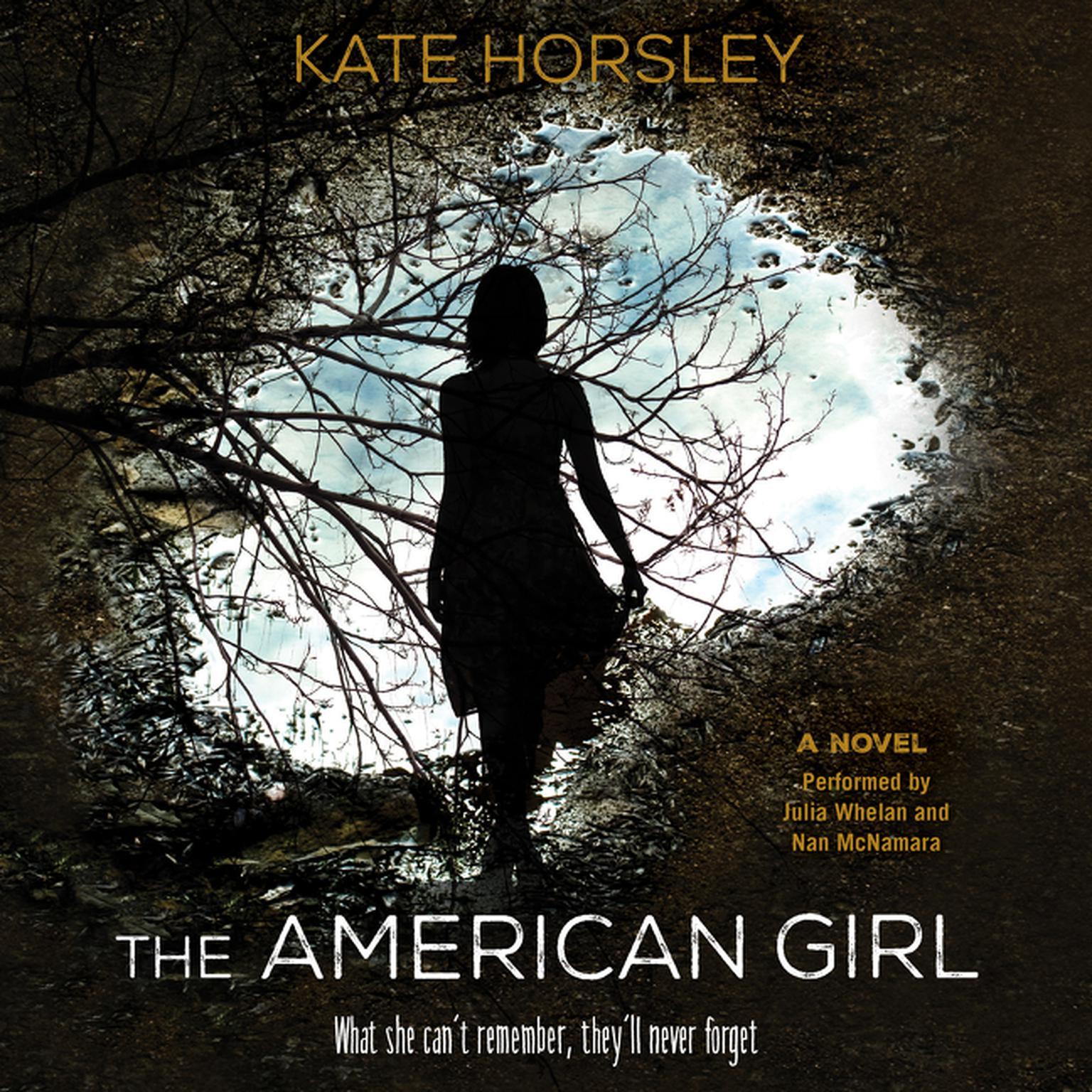 Printable The American Girl: A Novel Audiobook Cover Art