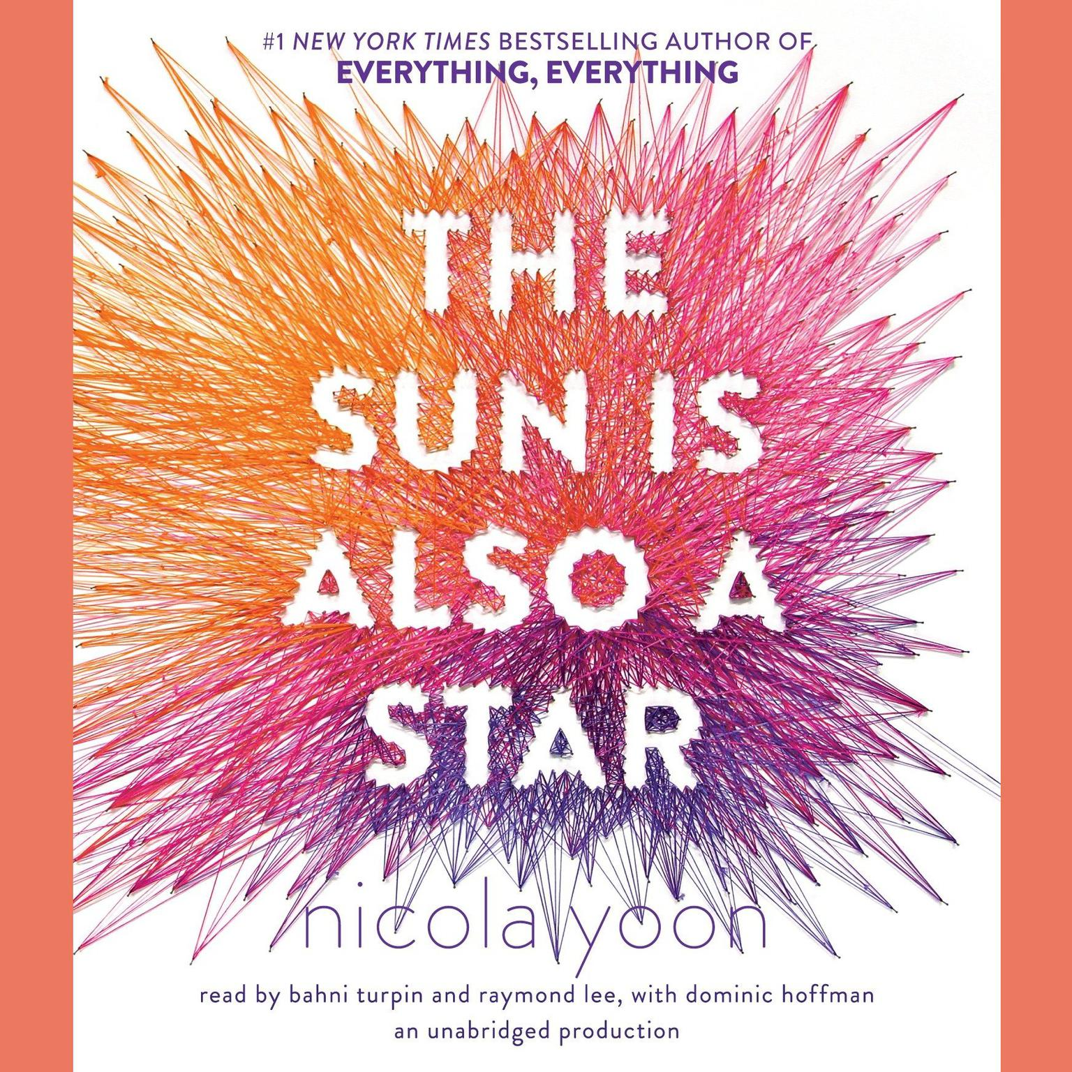 Printable The Sun Is Also a Star Audiobook Cover Art