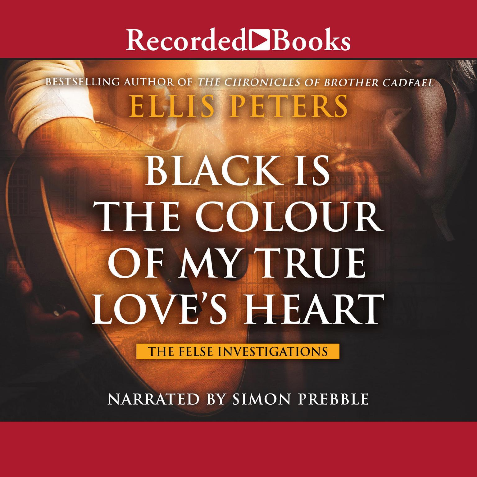 Printable Black is the Colour of My True Love's Heart Audiobook Cover Art
