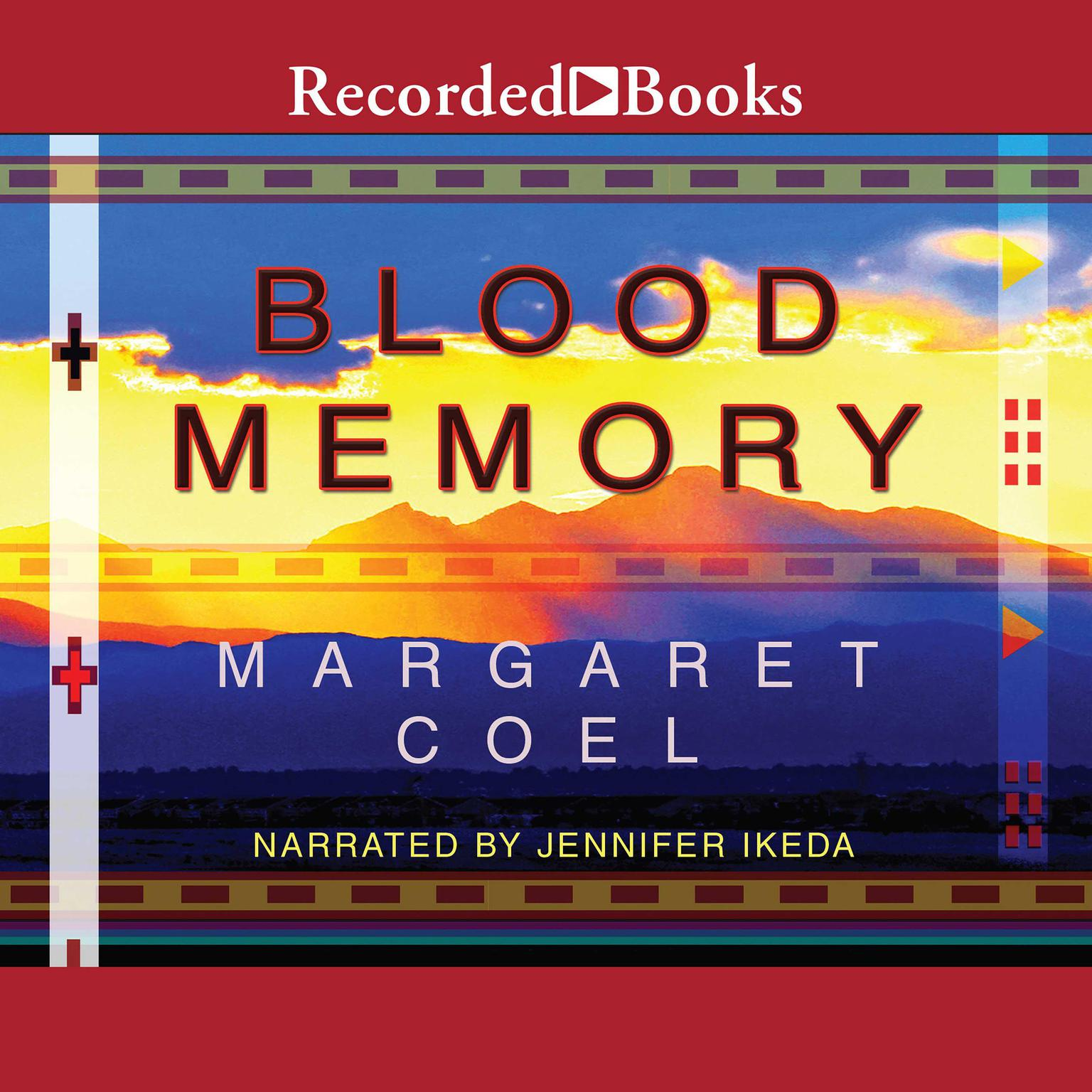 Printable Blood Memory Audiobook Cover Art