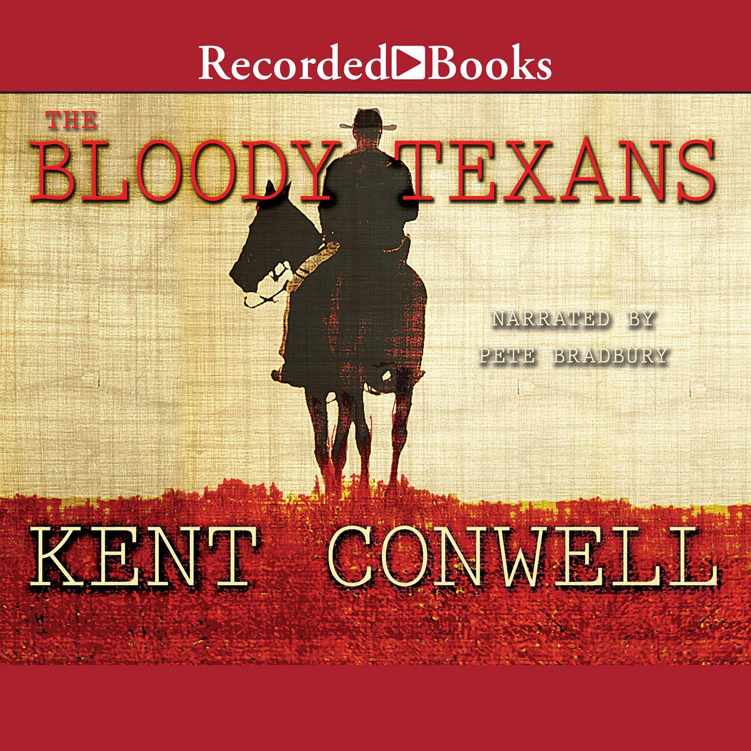 Printable The Bloody Texans Audiobook Cover Art