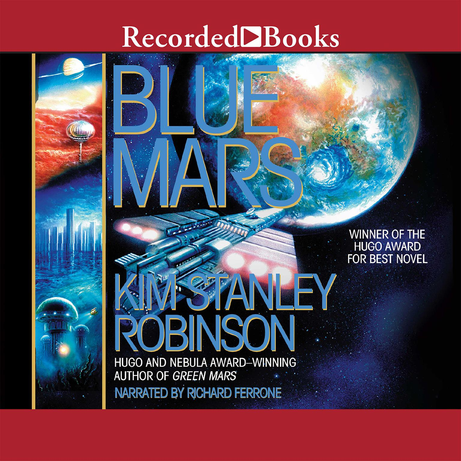 Printable Blue Mars Audiobook Cover Art