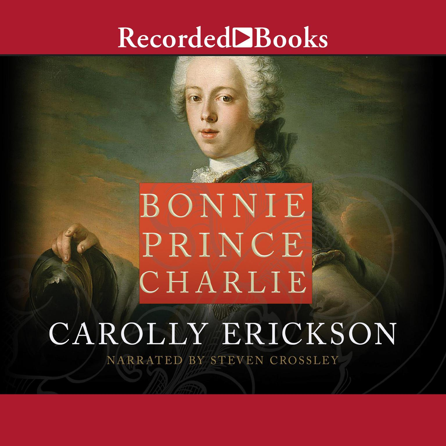 Printable Bonnie Prince Charlie Audiobook Cover Art