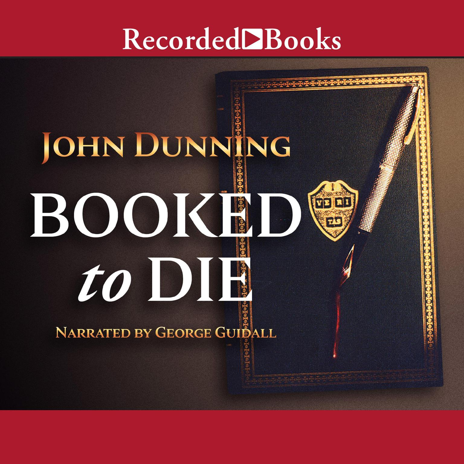 Printable Booked to Die Audiobook Cover Art