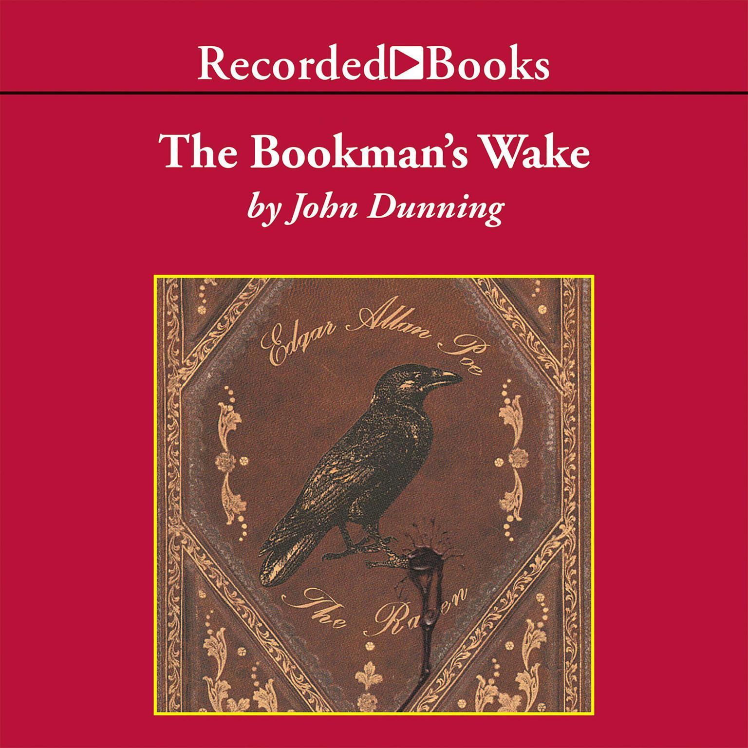 Printable Bookman's Wake Audiobook Cover Art