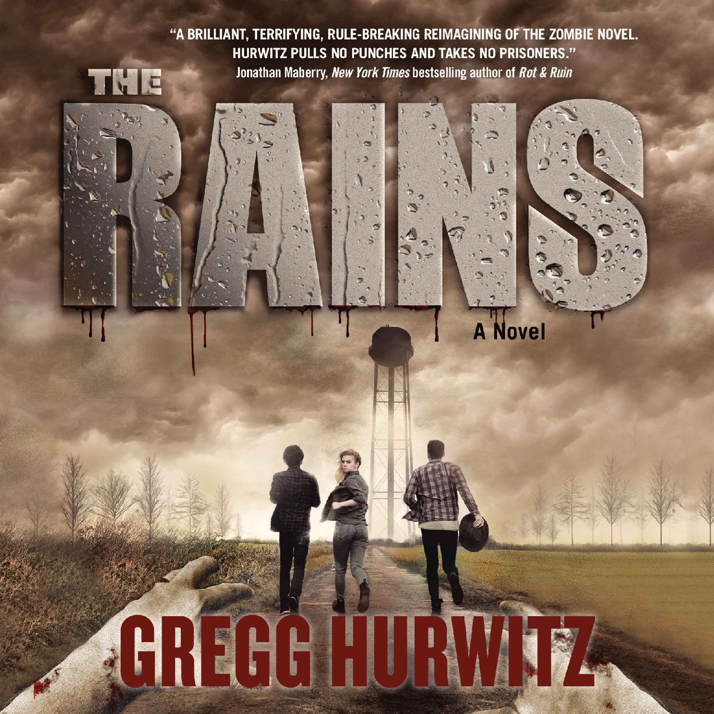 Printable The Rains Audiobook Cover Art