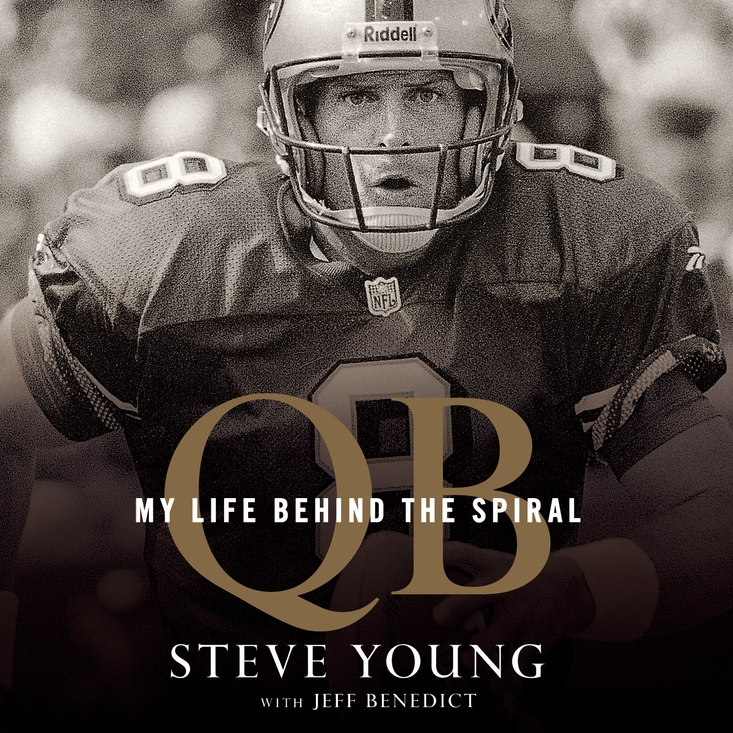 Printable QB: My Life Behind the Spiral Audiobook Cover Art