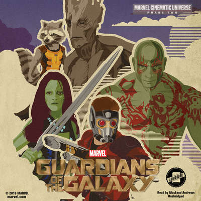 Phase Two: Marvel's Guardians of the Galaxy Audiobook, by Marvel Press