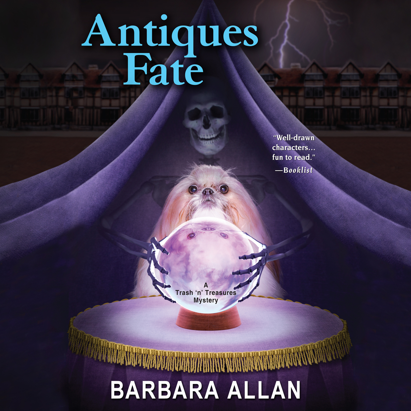 Printable Antiques Fate: A Trash 'n' Treasures Mystery Book Audiobook Cover Art