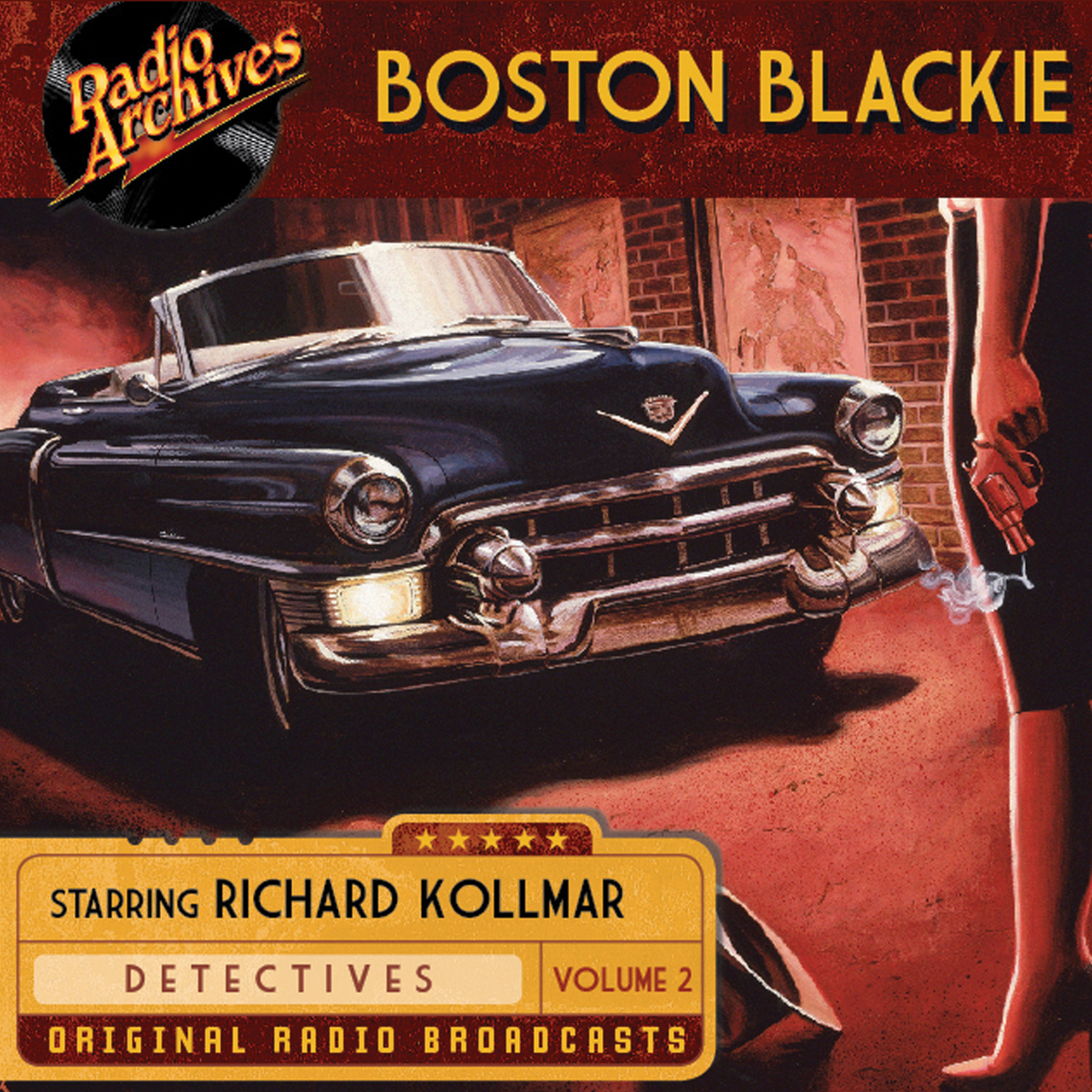 Printable Boston Blackie, Volume 2 Audiobook Cover Art