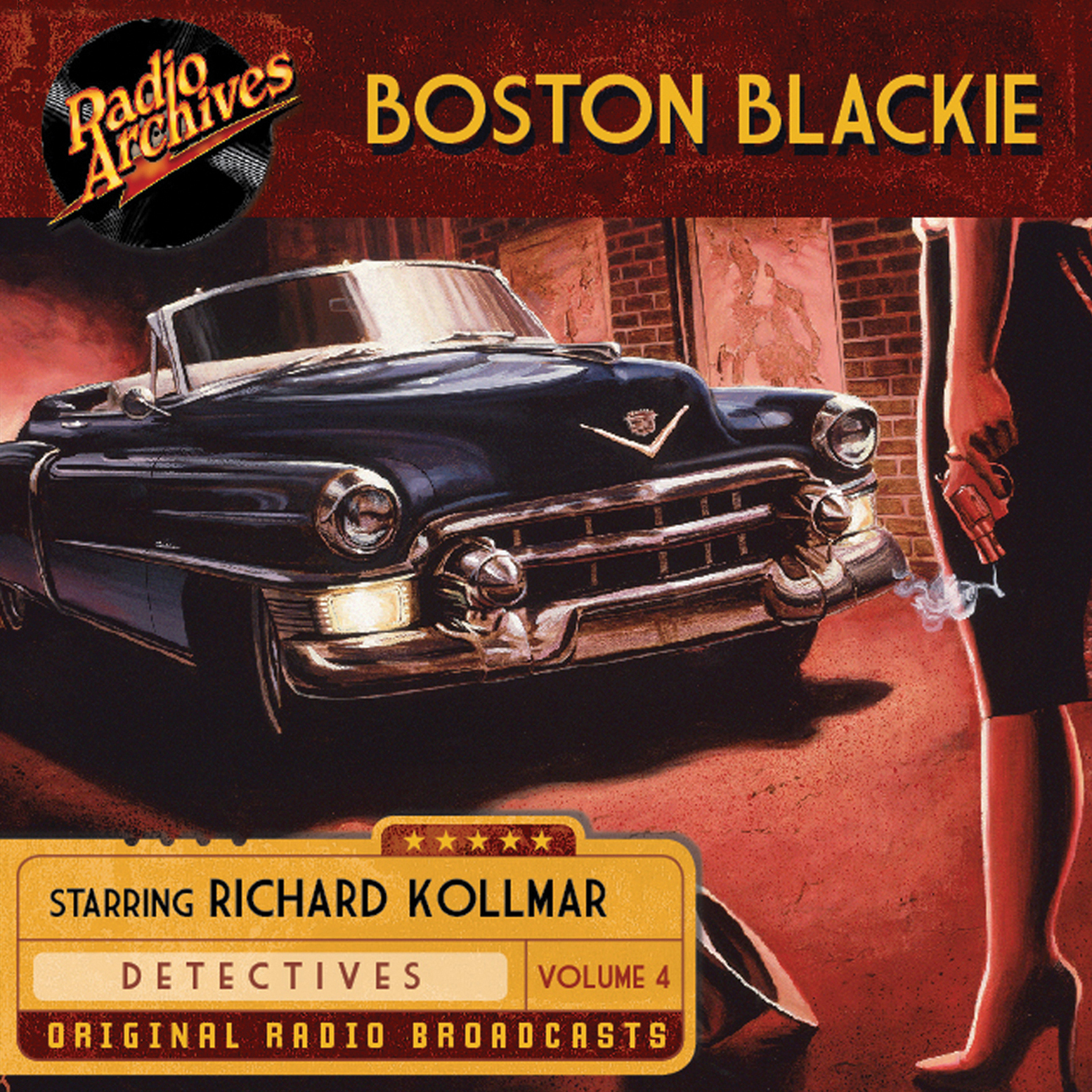 Printable Boston Blackie, Volume 4 Audiobook Cover Art