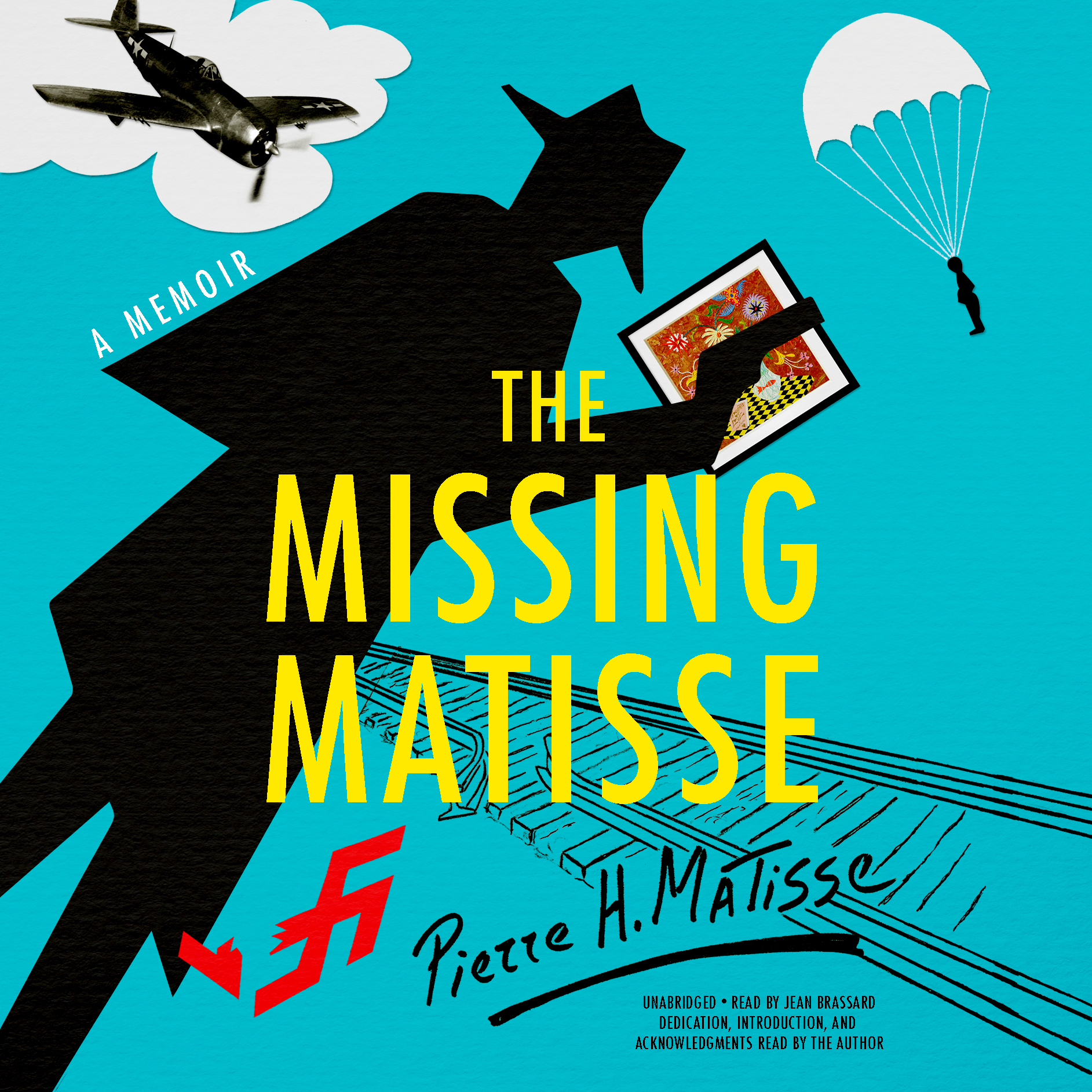Printable The Missing Matisse Audiobook Cover Art