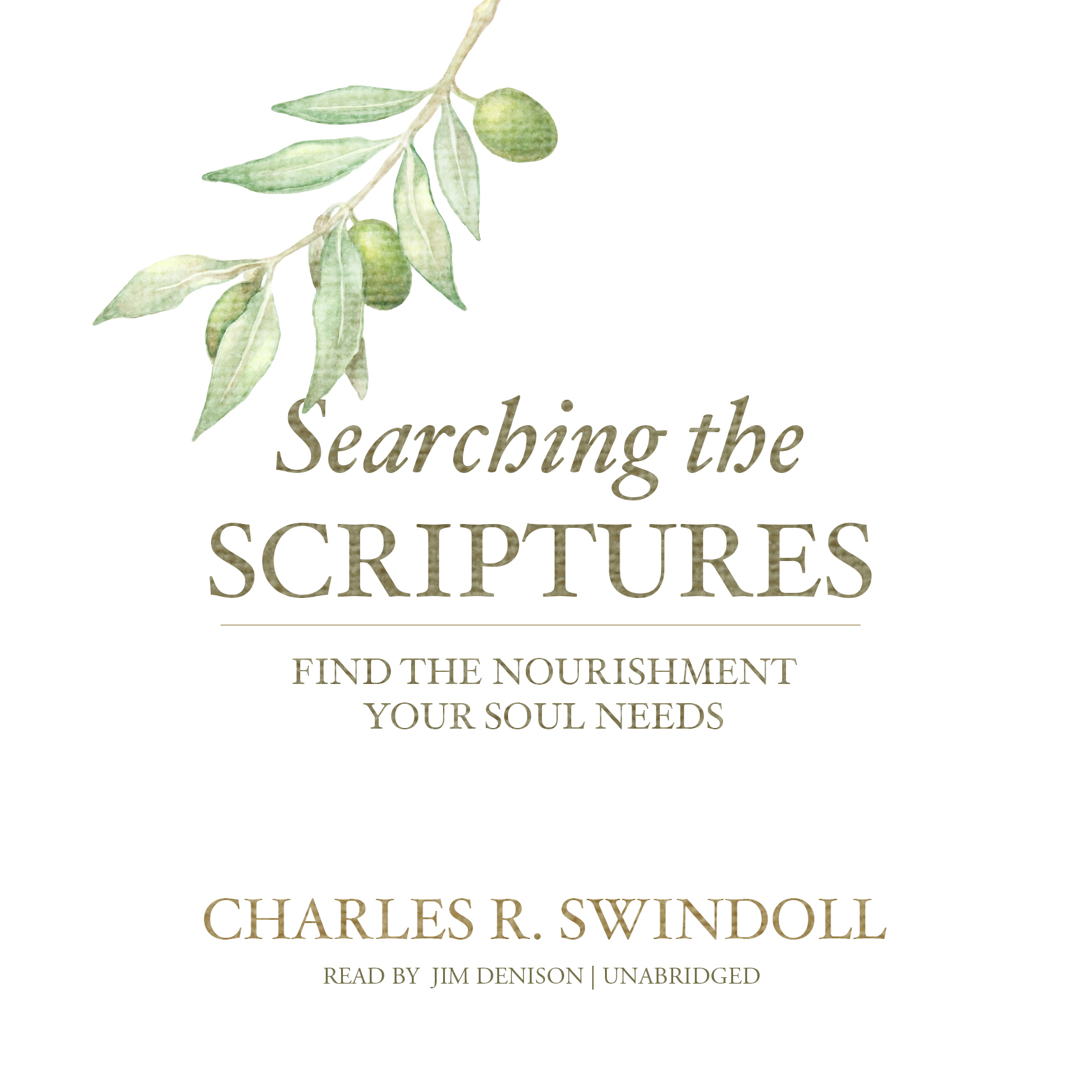 Printable Searching the Scriptures: Find the Nourishment Your Soul Needs Audiobook Cover Art