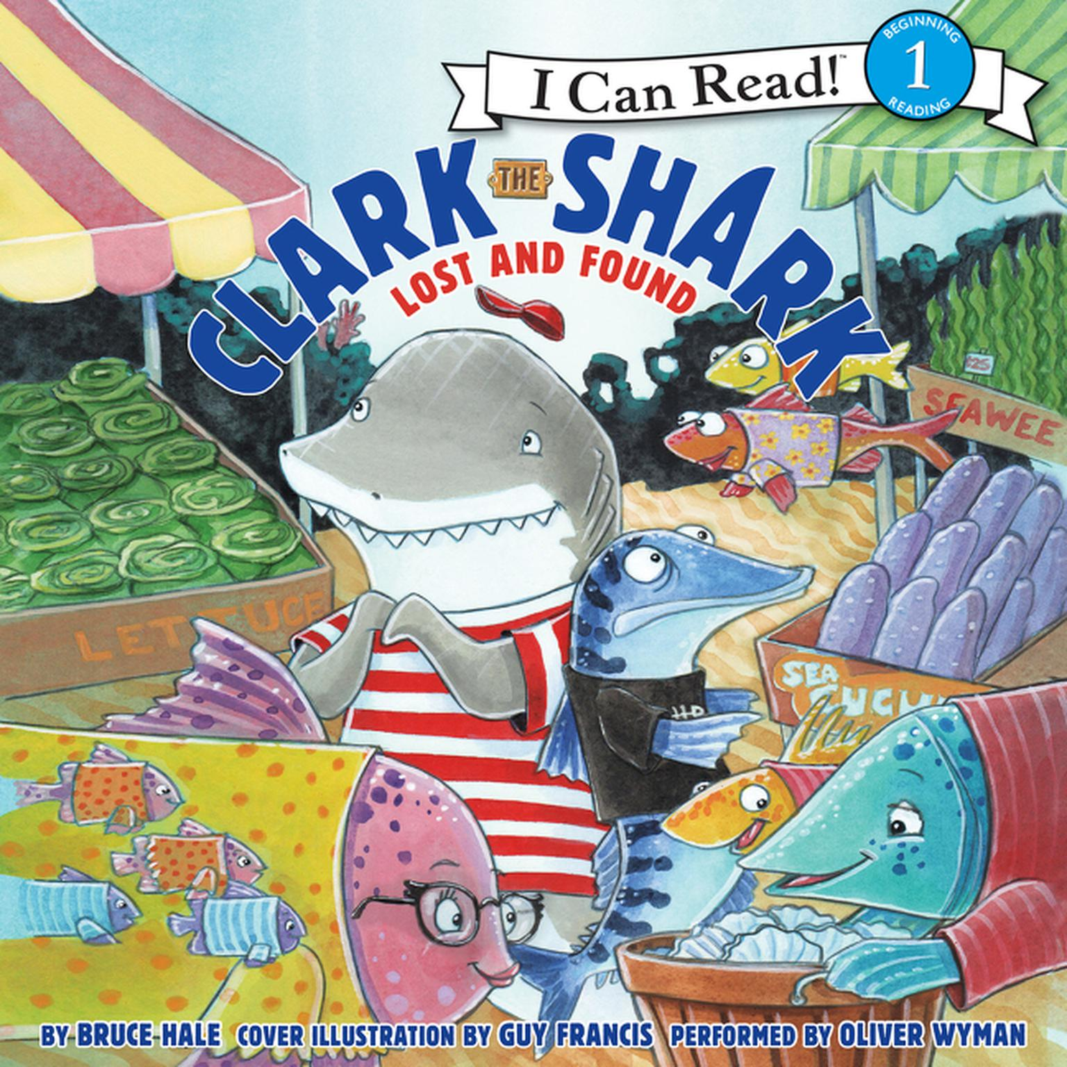 Printable Clark the Shark: Lost and Found Audiobook Cover Art