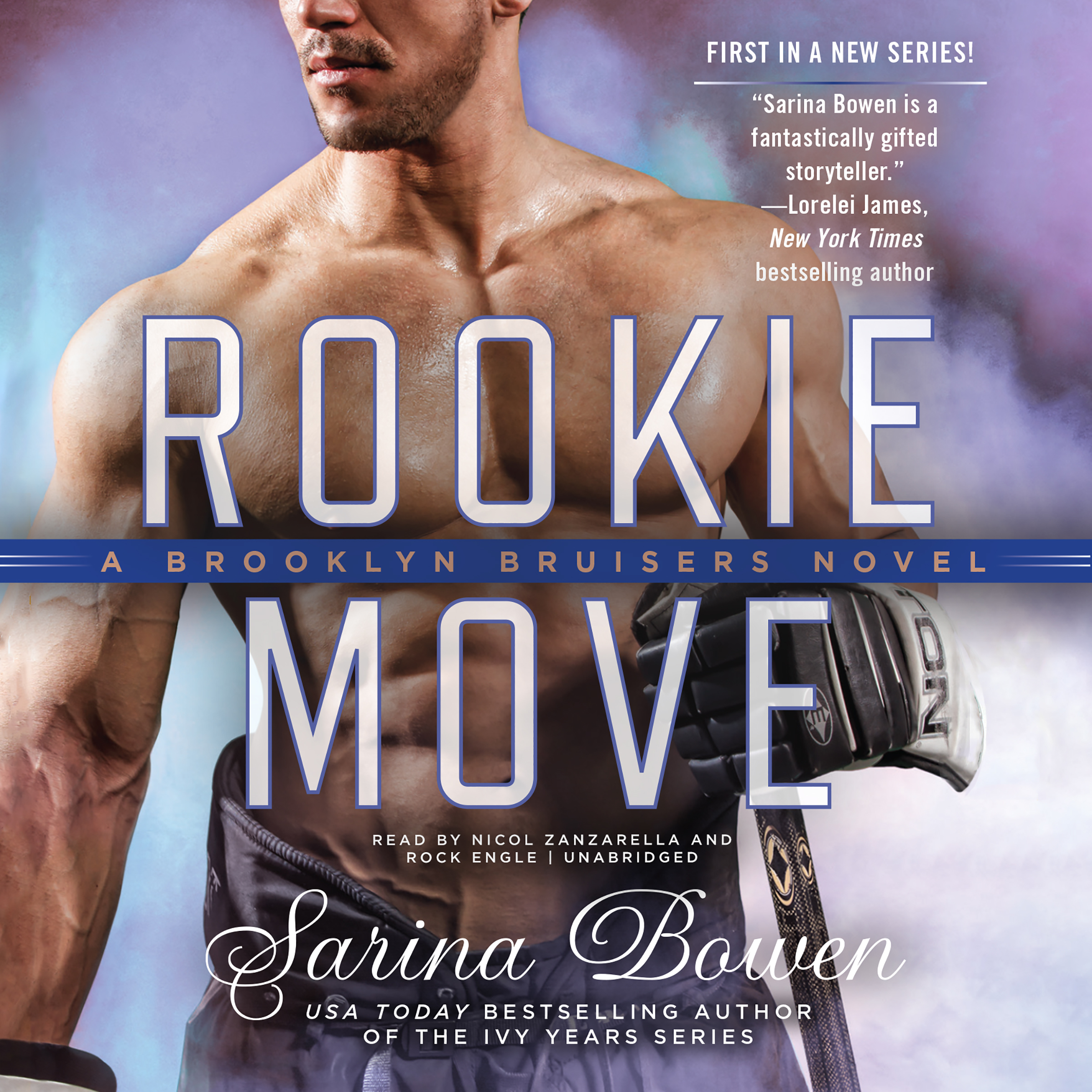 Printable Rookie Move Audiobook Cover Art