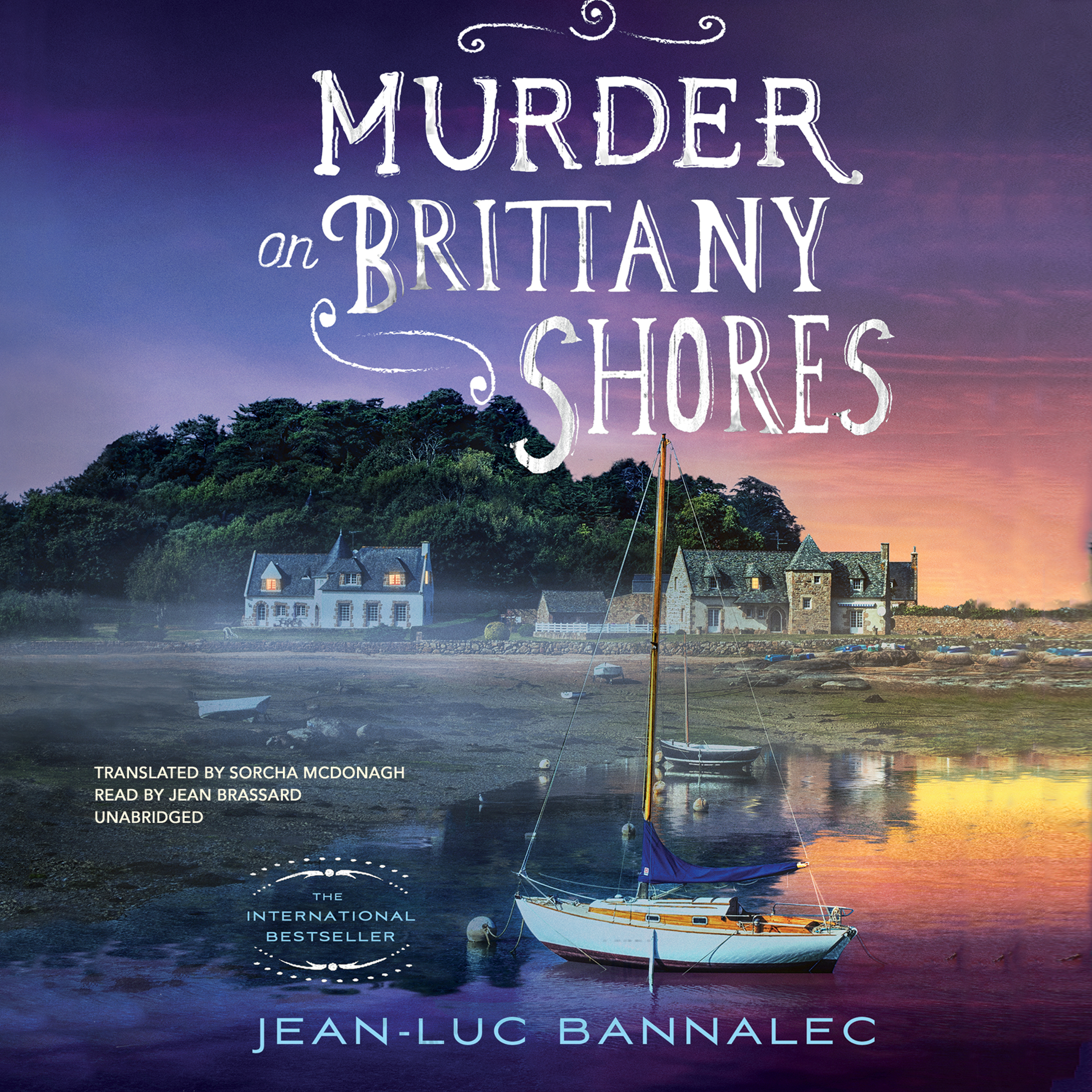 Printable Murder on Brittany Shores Audiobook Cover Art