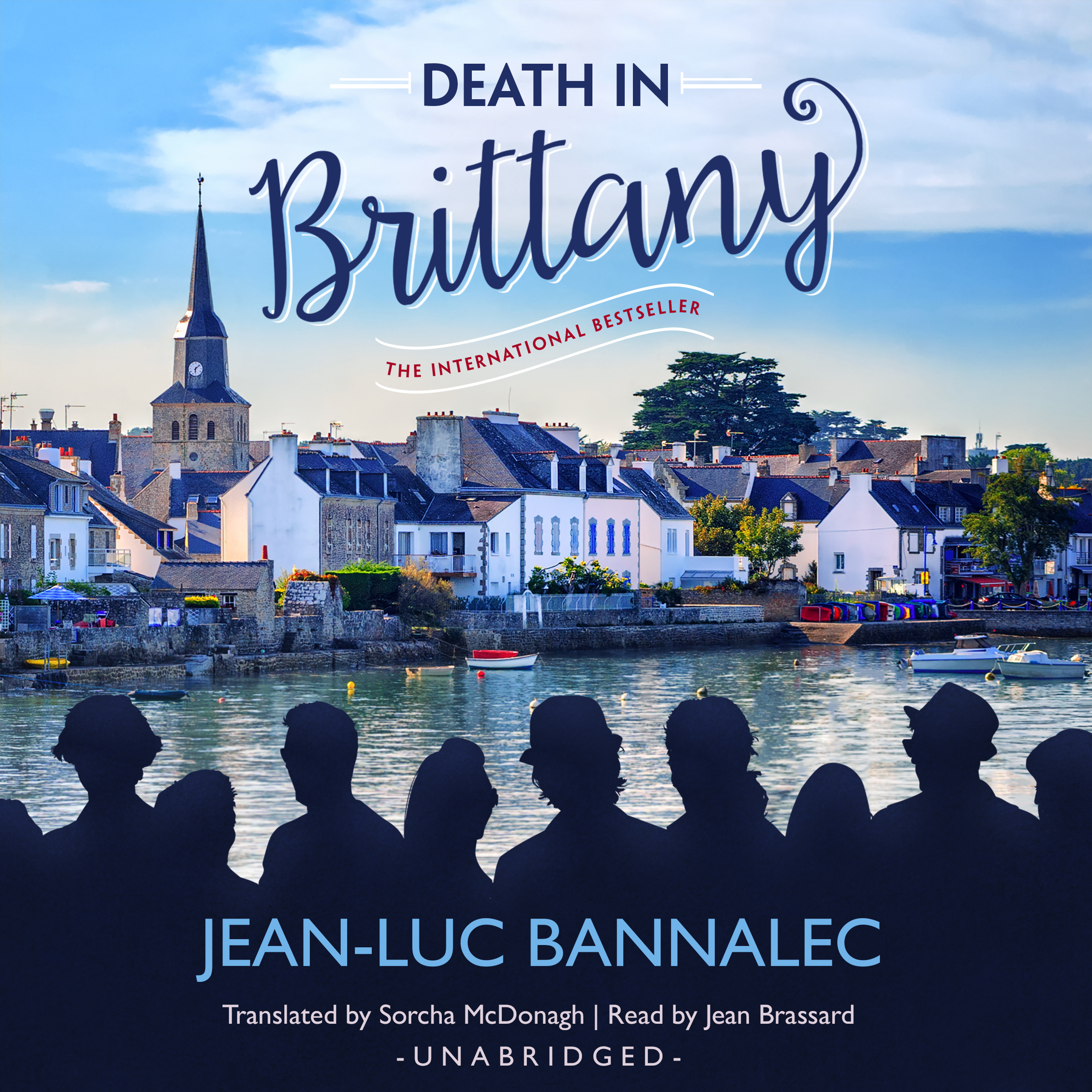 Printable Death in Brittany Audiobook Cover Art