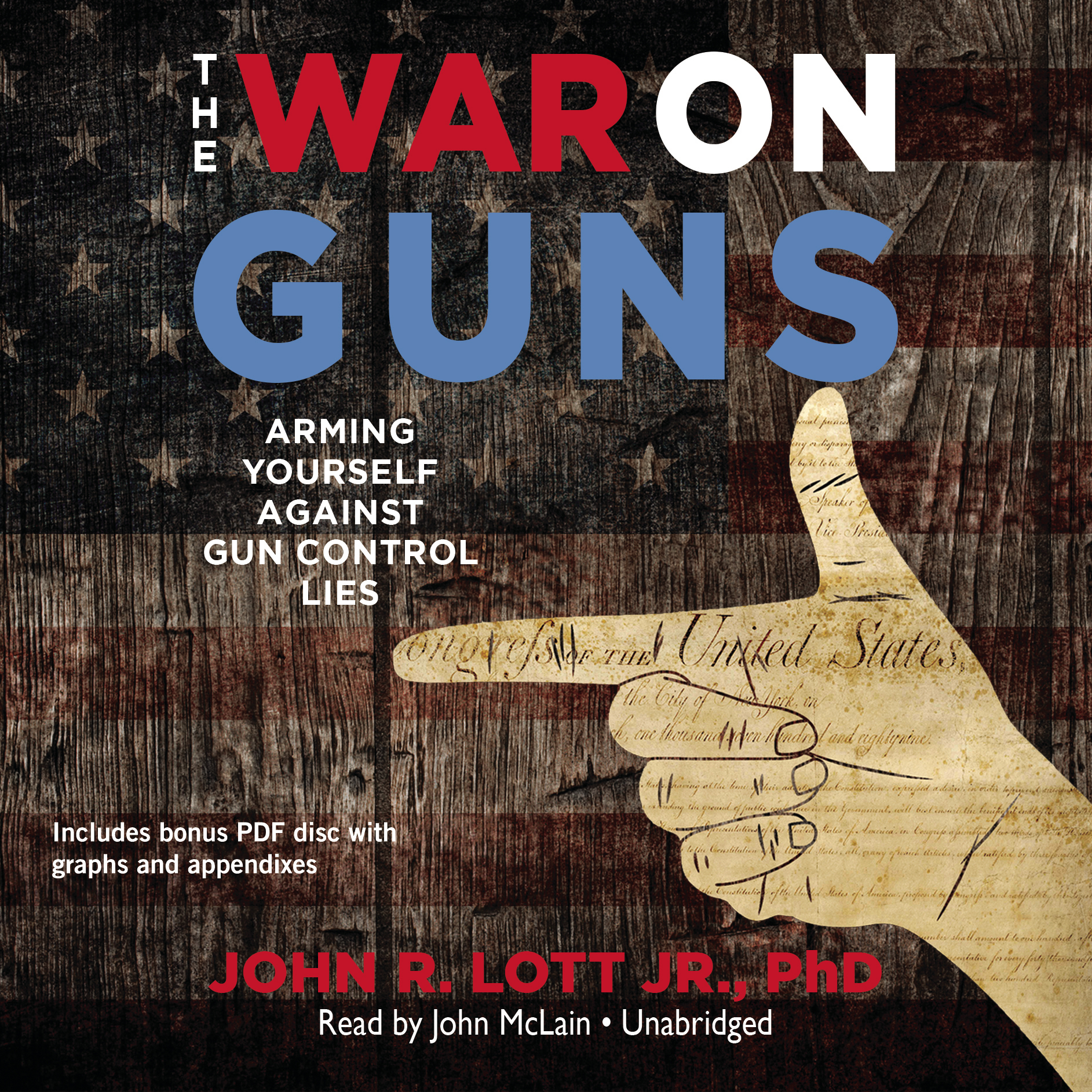 Printable The War on Guns: Arming Yourself against Gun Control Lies Audiobook Cover Art