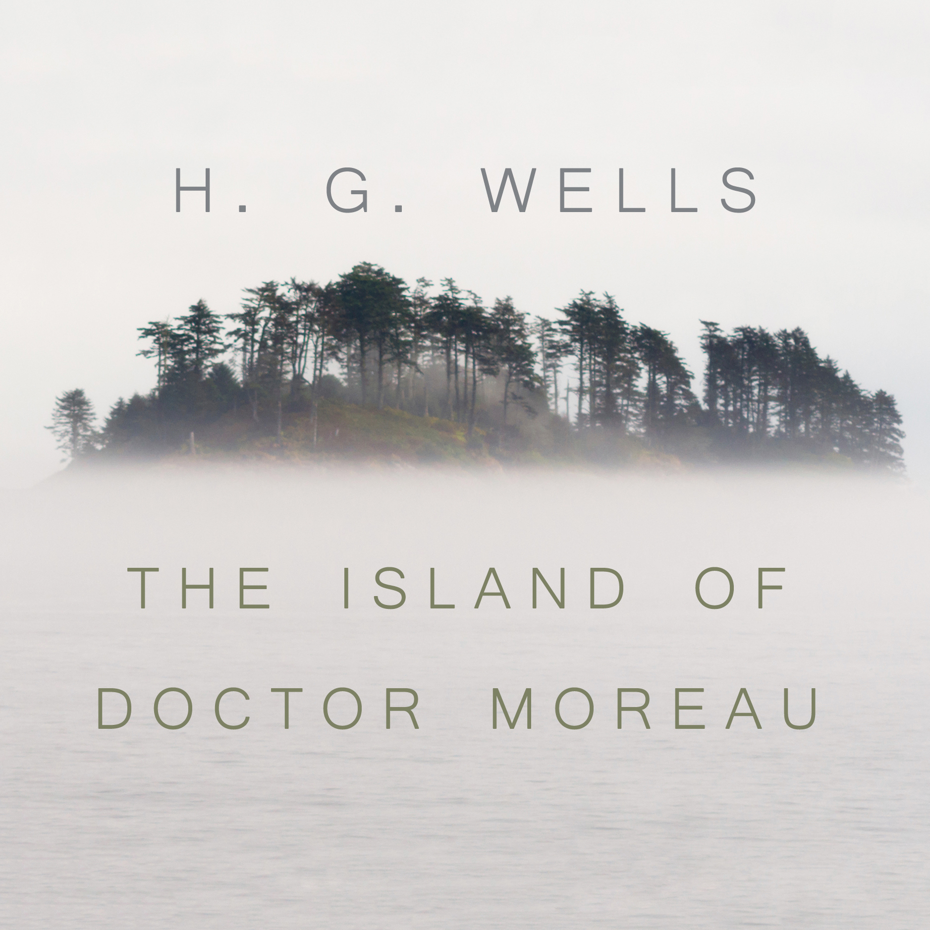 Printable The Island of Dr. Moreau: A chilling tale of Prendick's encounter with horrifically modified animals on Dr. Moreau's island. Audiobook Cover Art