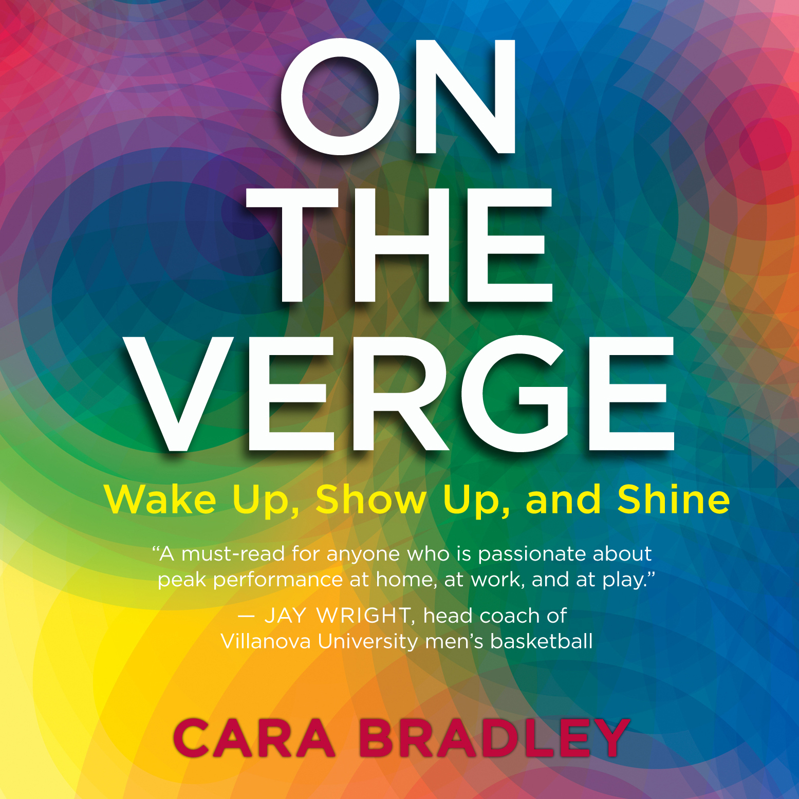 Printable On the Verge: Wake Up, Show Up, and Shine Audiobook Cover Art