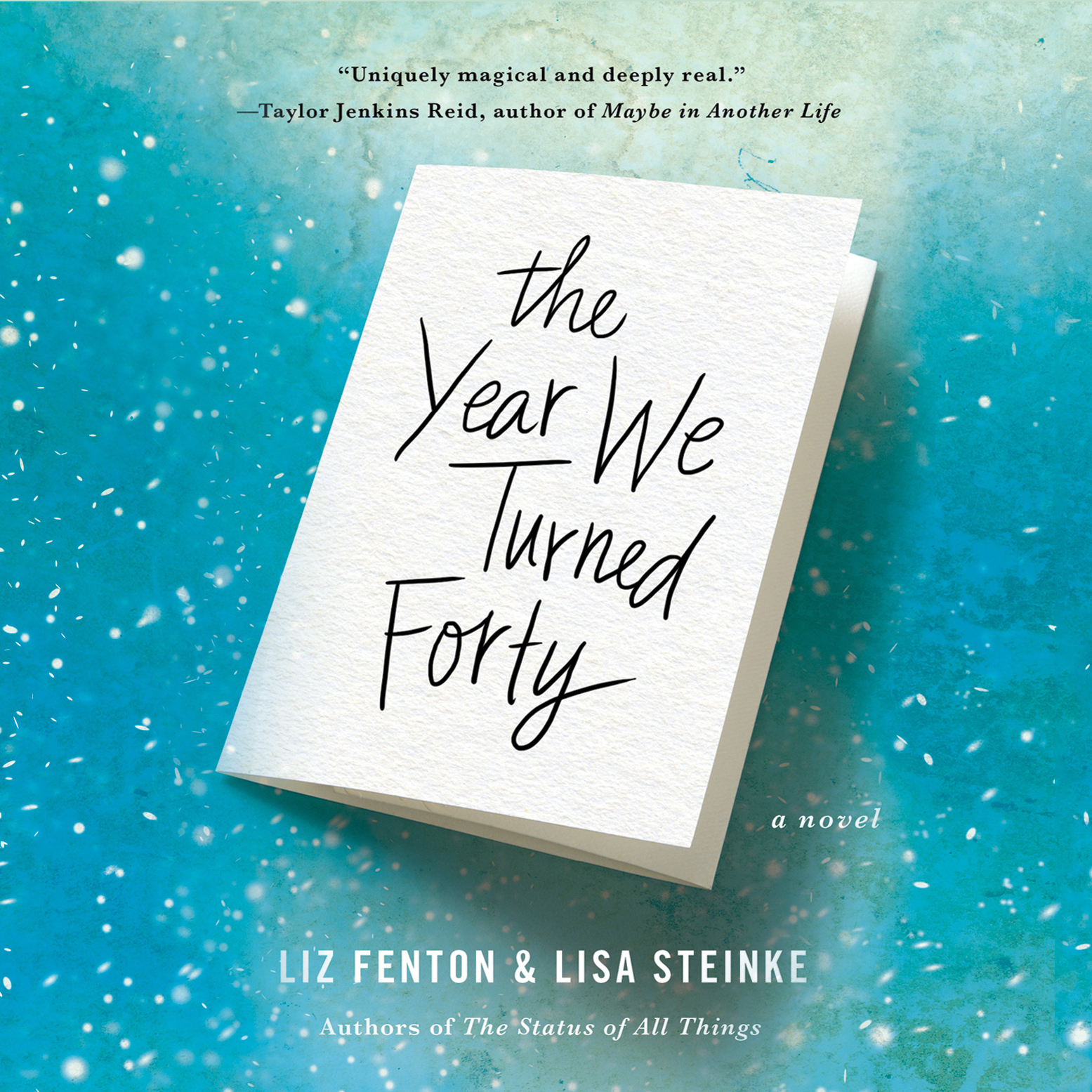 Printable The Year We Turned Forty Audiobook Cover Art