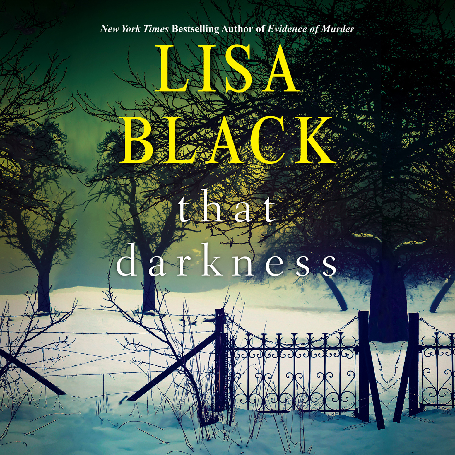 Printable That Darkness Audiobook Cover Art