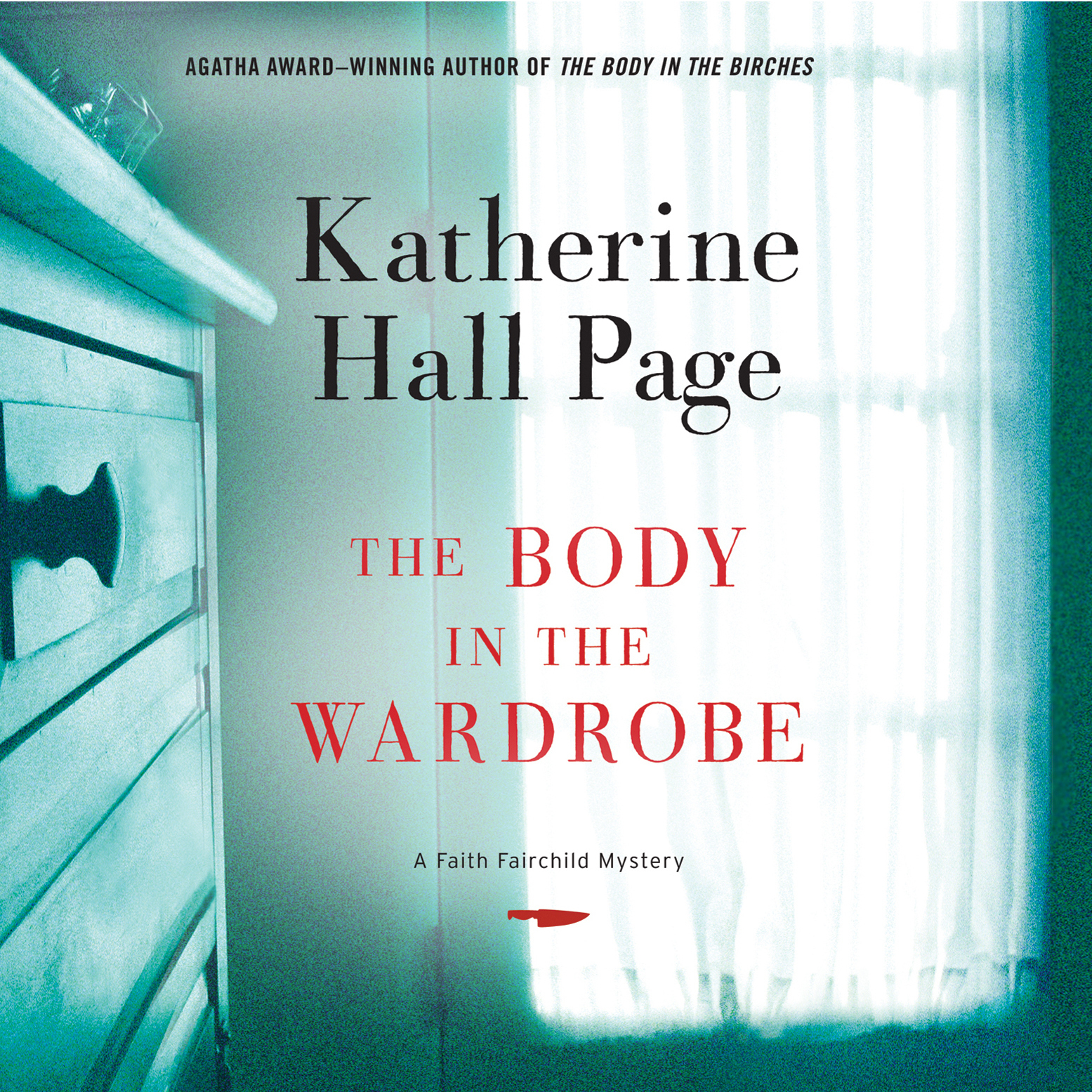 Printable The Body in the Wardrobe Audiobook Cover Art
