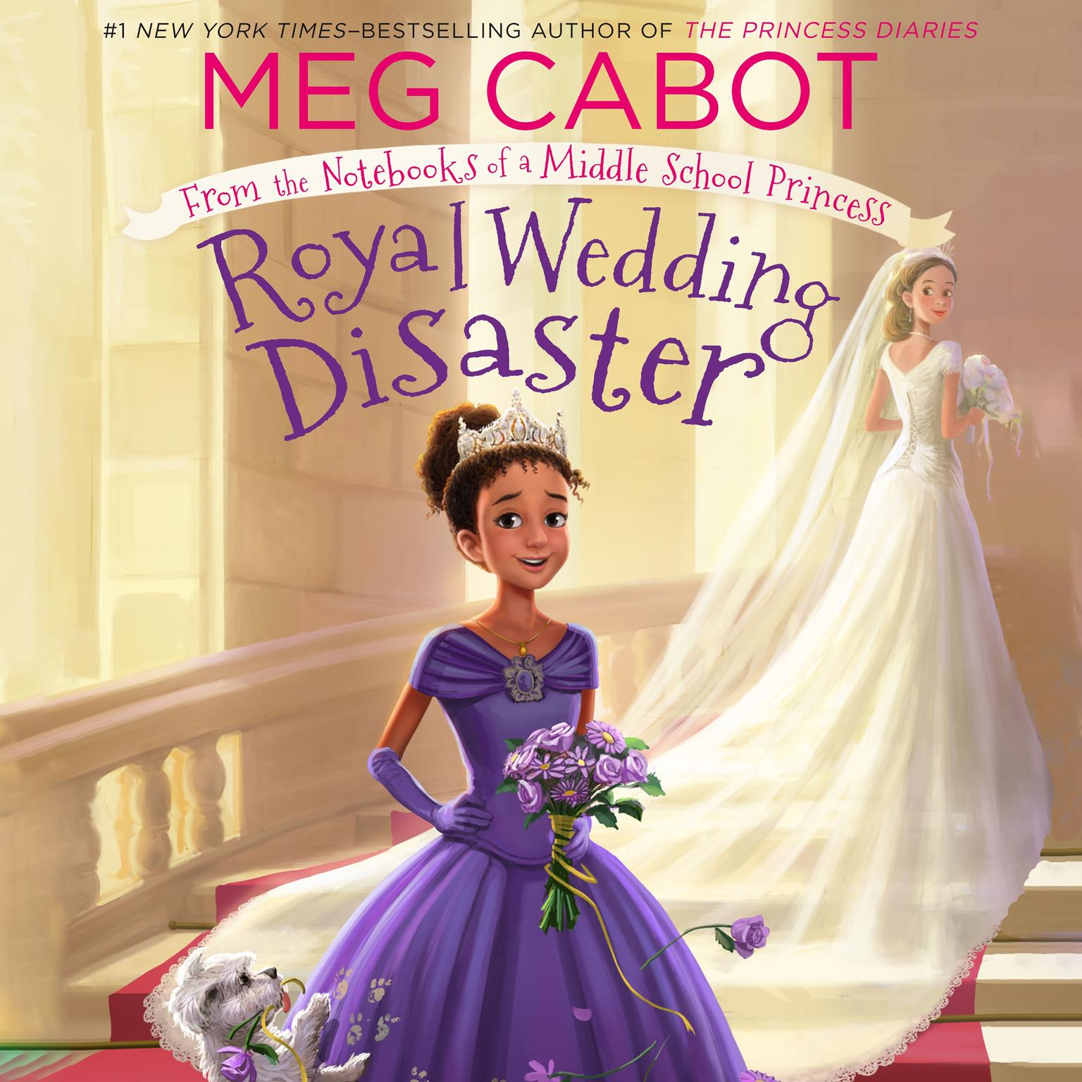 Printable Royal Wedding Disaster: From the Notebooks of a Middle School Princess Audiobook Cover Art