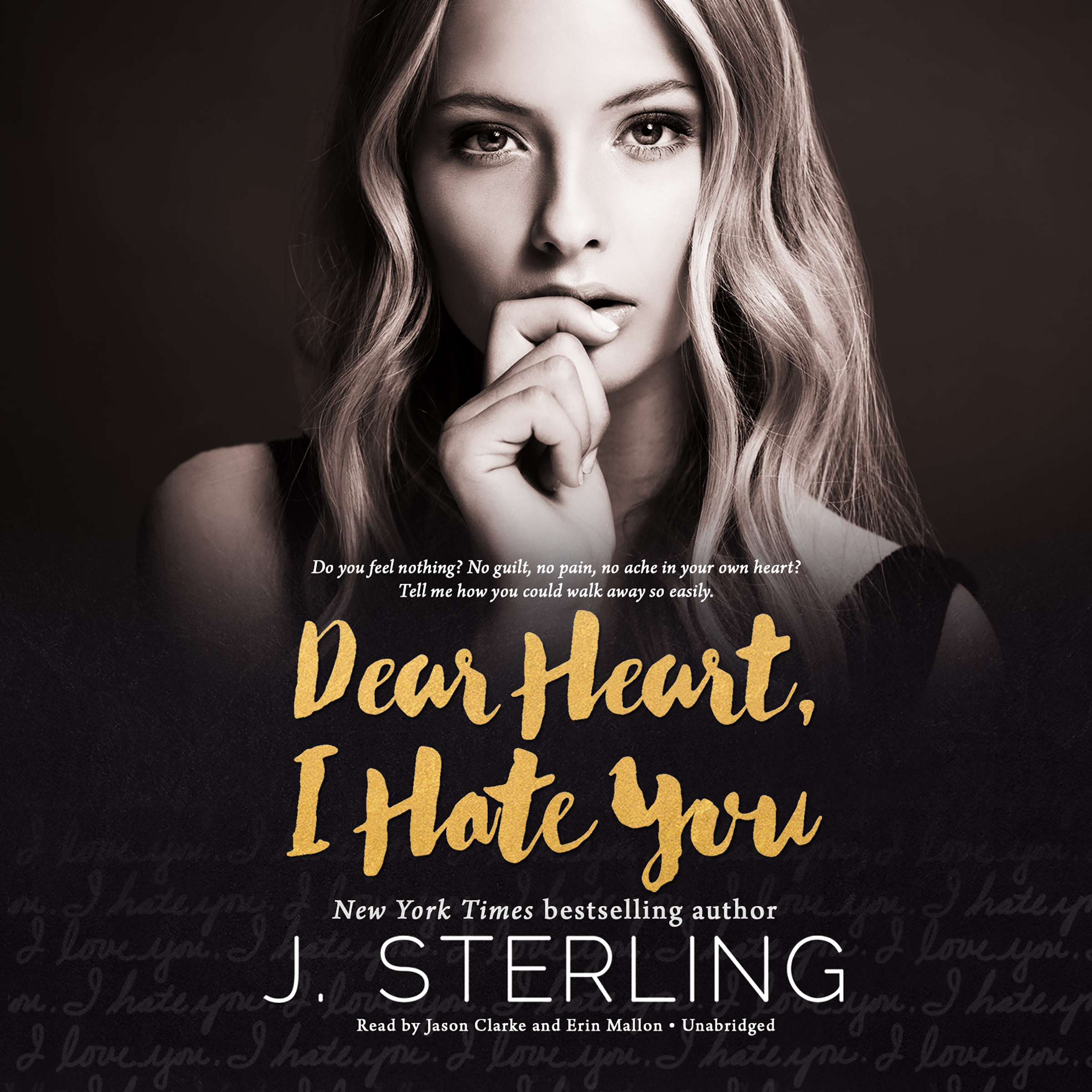 Printable Dear Heart, I Hate You Audiobook Cover Art