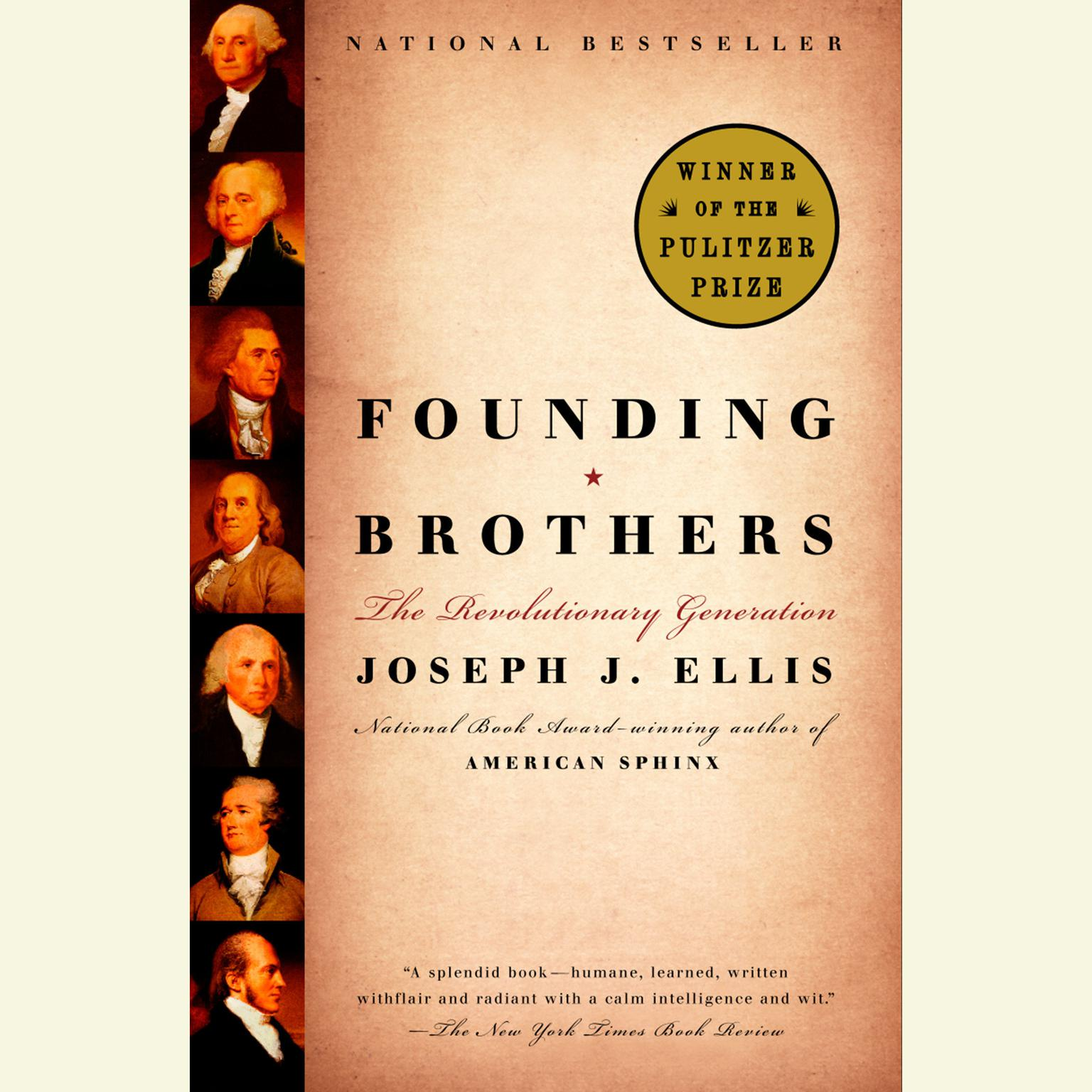 Printable Founding Brothers: The Revolutionary Generation Audiobook Cover Art