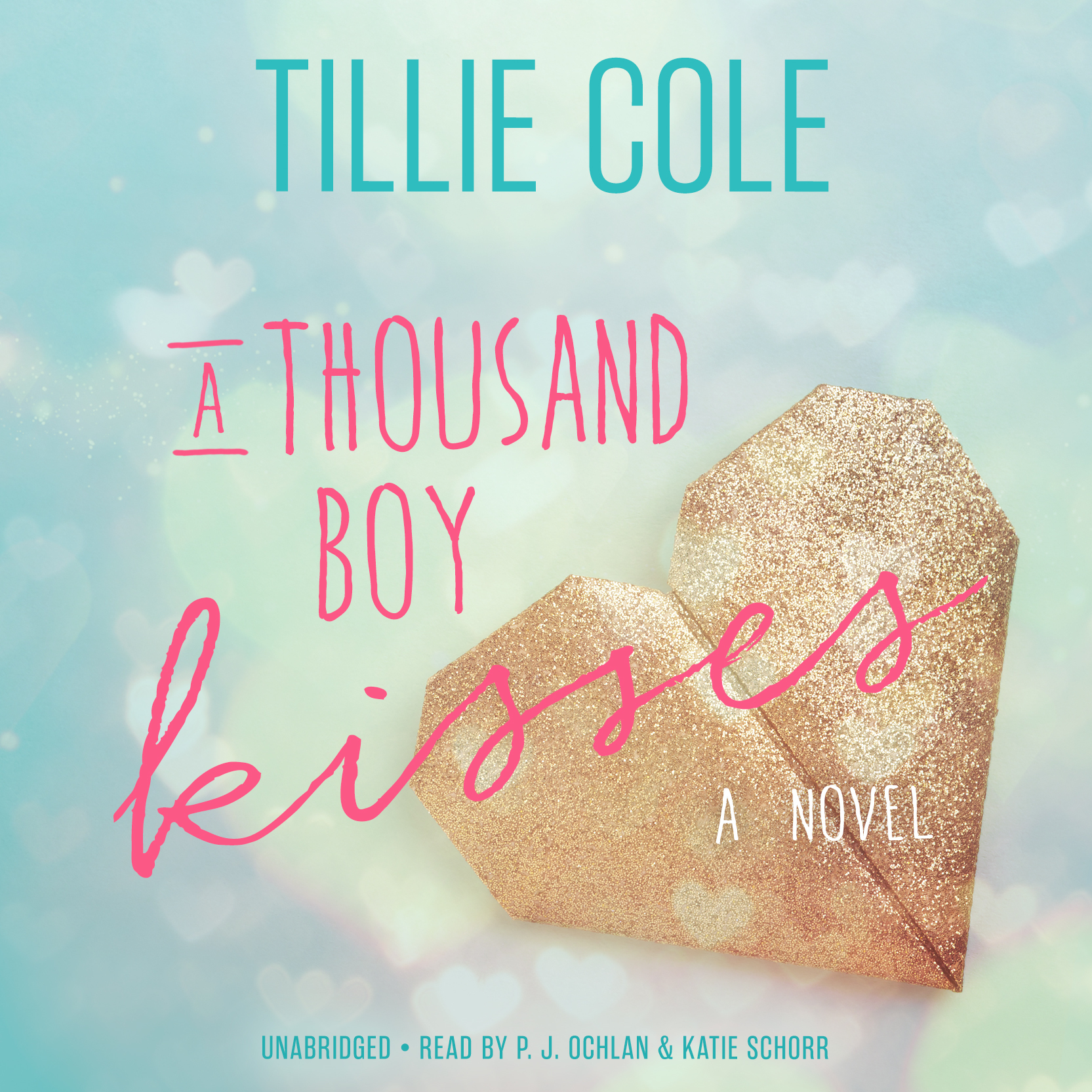 Printable A Thousand Boy Kisses: A Novel Audiobook Cover Art