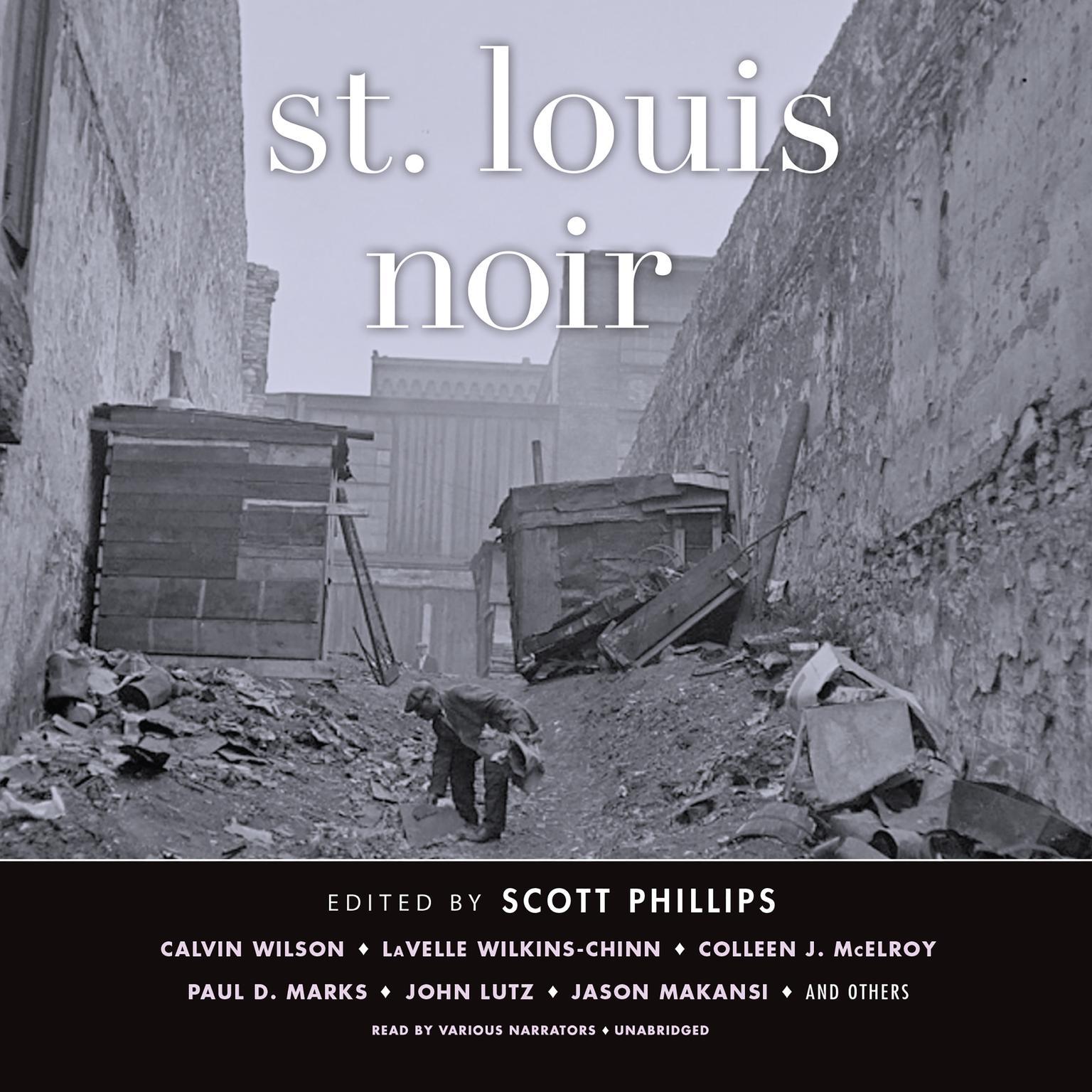 Printable St. Louis Noir Audiobook Cover Art