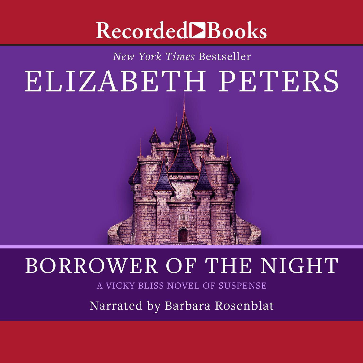 Printable Borrower of the Night Audiobook Cover Art