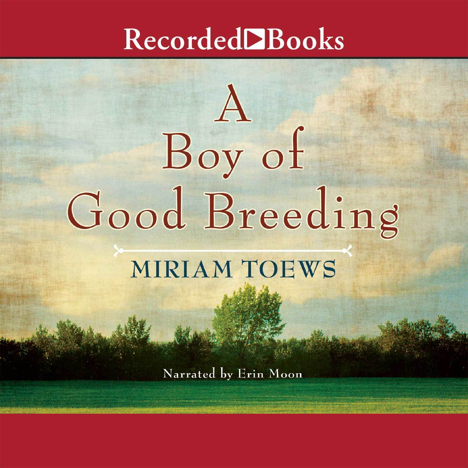 Printable A Boy of Good Breeding Audiobook Cover Art