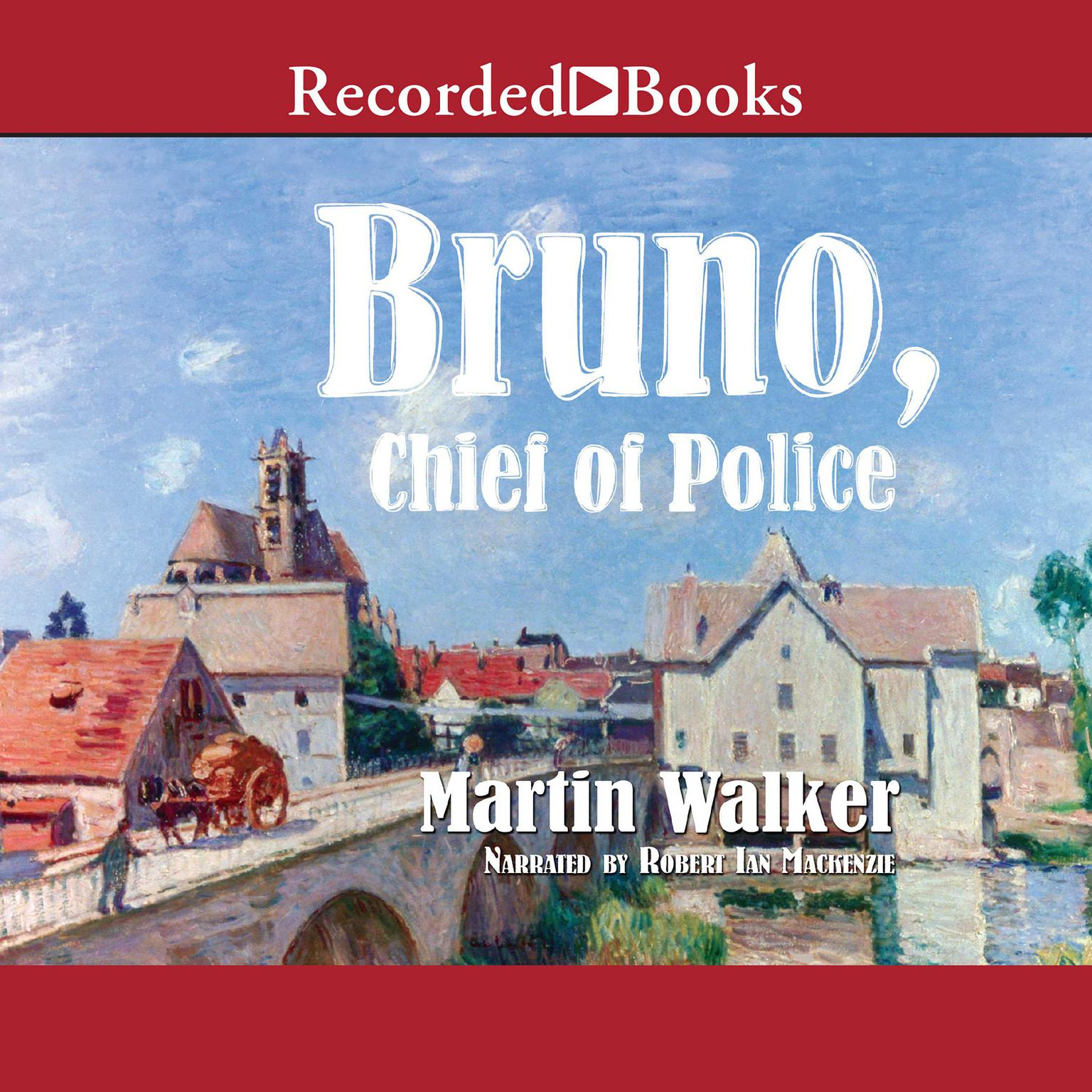 Printable Bruno, Chief of Police Audiobook Cover Art