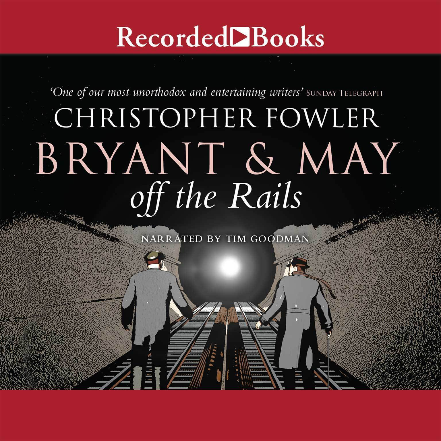 Printable Bryant & May off the Rails Audiobook Cover Art
