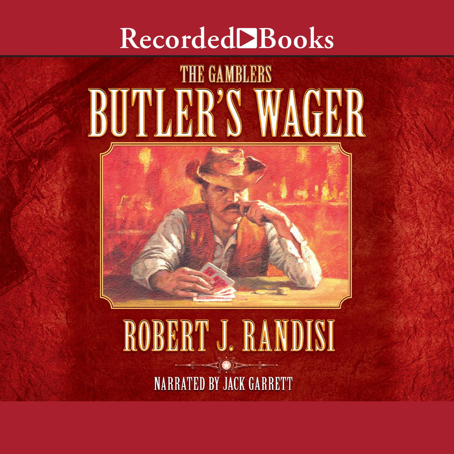 Printable Butler's Wager Audiobook Cover Art