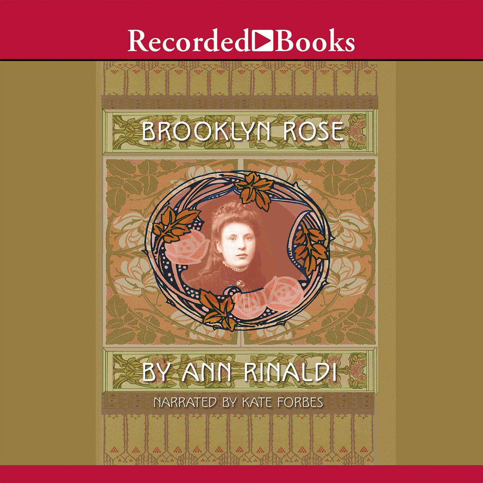 Printable Brooklyn Rose Audiobook Cover Art
