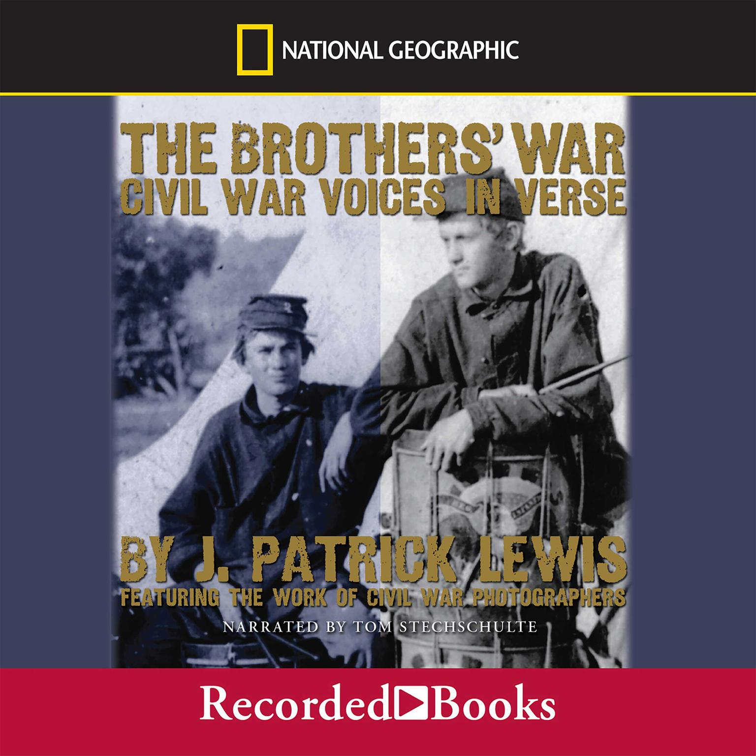 Printable The Brothers' War: Civil War Voices in Verse Audiobook Cover Art