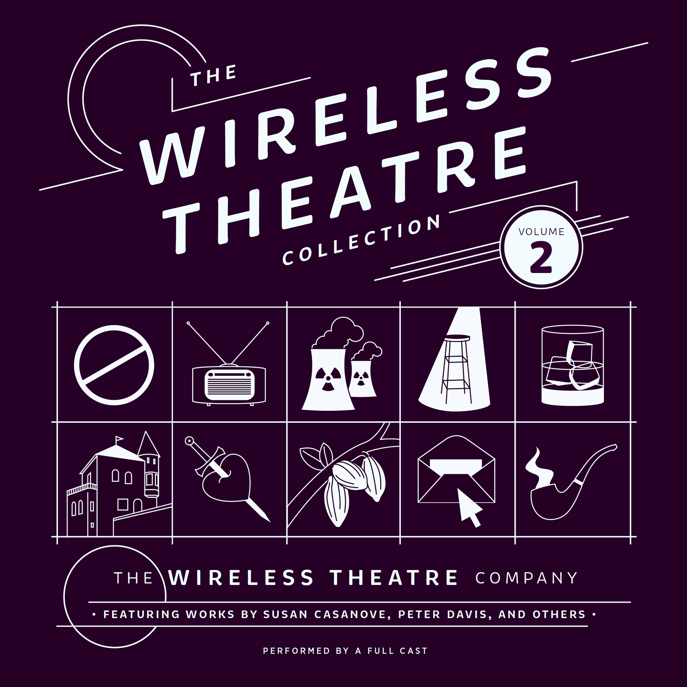 Printable The Wireless Theatre Collection, Vol. 2 Audiobook Cover Art