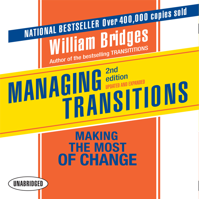 Printable Managing Transitions, 2nd Edition: Making the Most of Change Audiobook Cover Art
