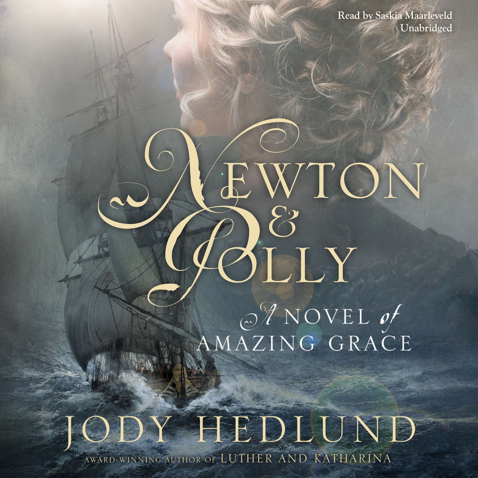 Printable Newton and Polly: A Novel of Amazing Grace Audiobook Cover Art