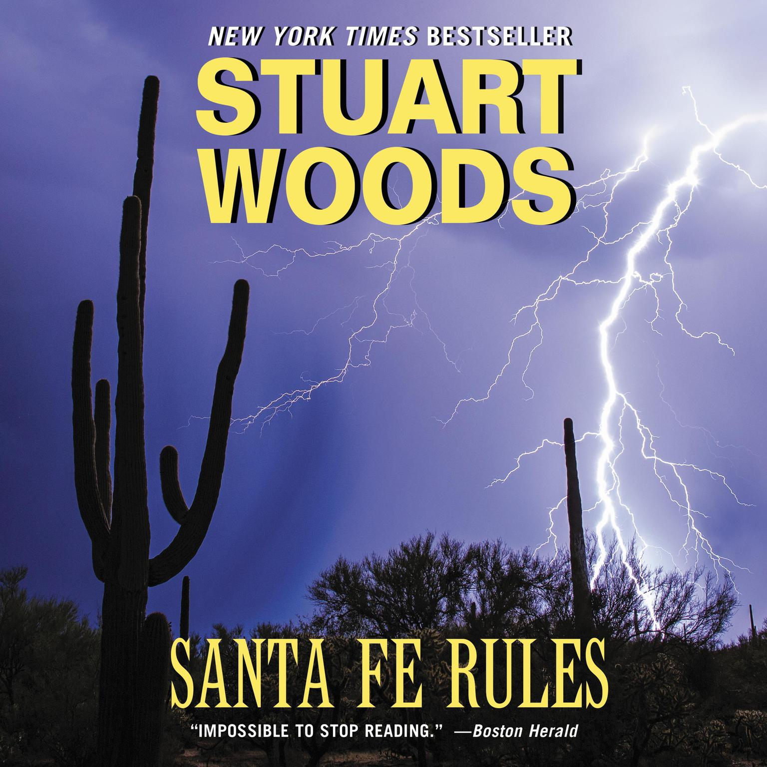 Printable Santa Fe Rules Audiobook Cover Art