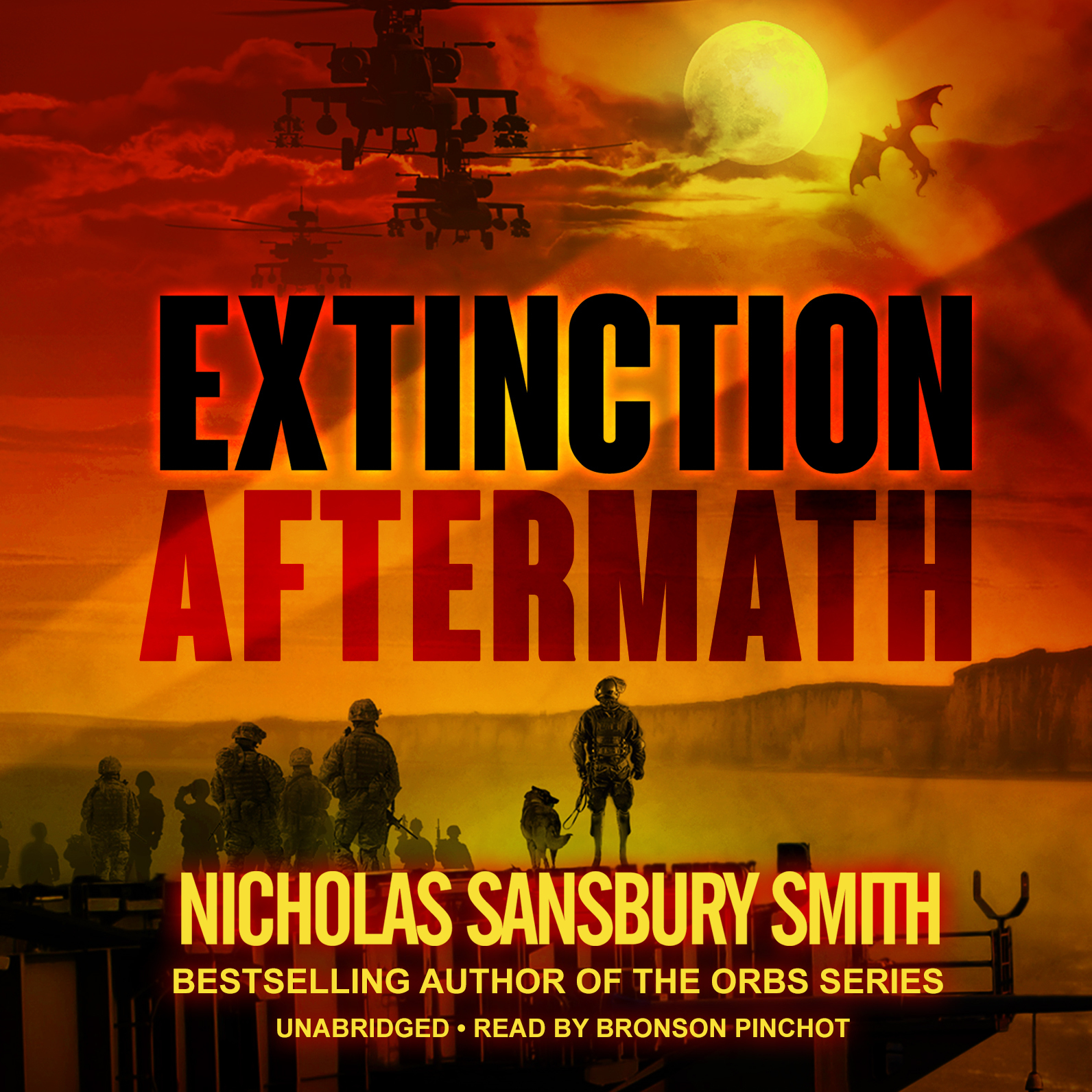 Printable Extinction Aftermath Audiobook Cover Art