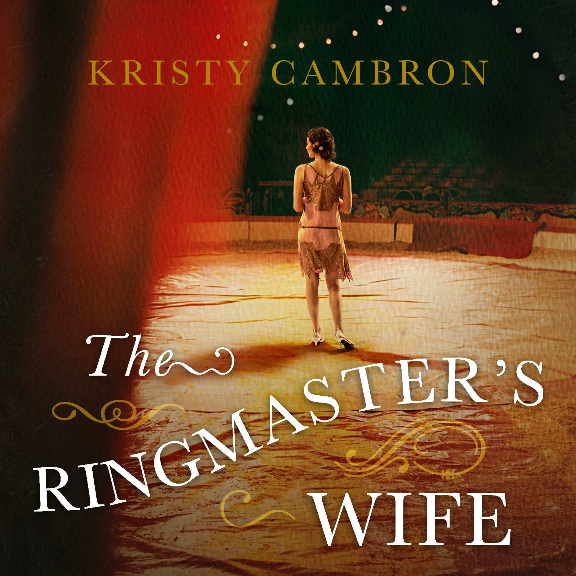 Printable The Ringmaster's Wife Audiobook Cover Art