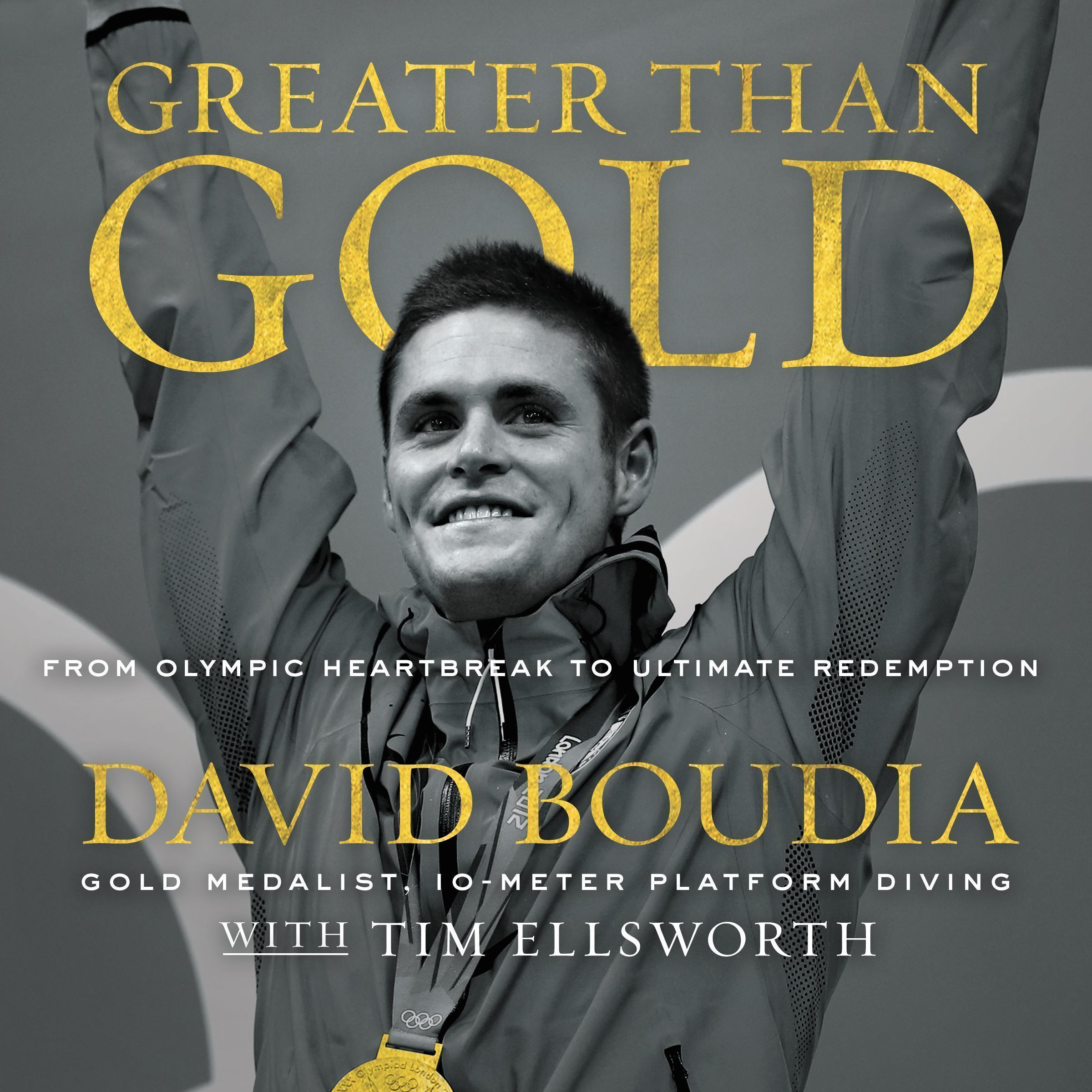 Printable Greater Than Gold: From Olympic Heartbreak to Ultimate Redemption Audiobook Cover Art