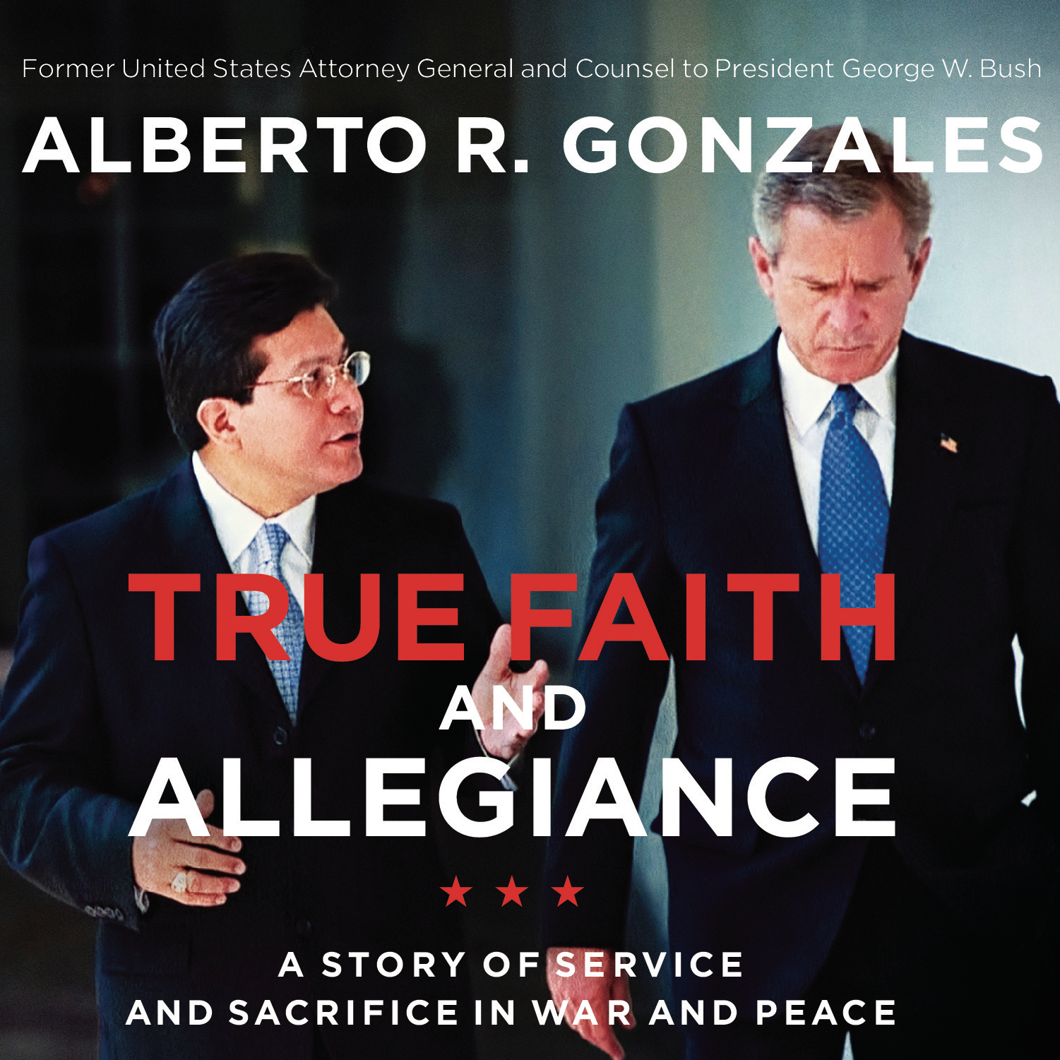 Printable True Faith and Allegiance: A Story of Service and Sacrifice in War and Peace Audiobook Cover Art